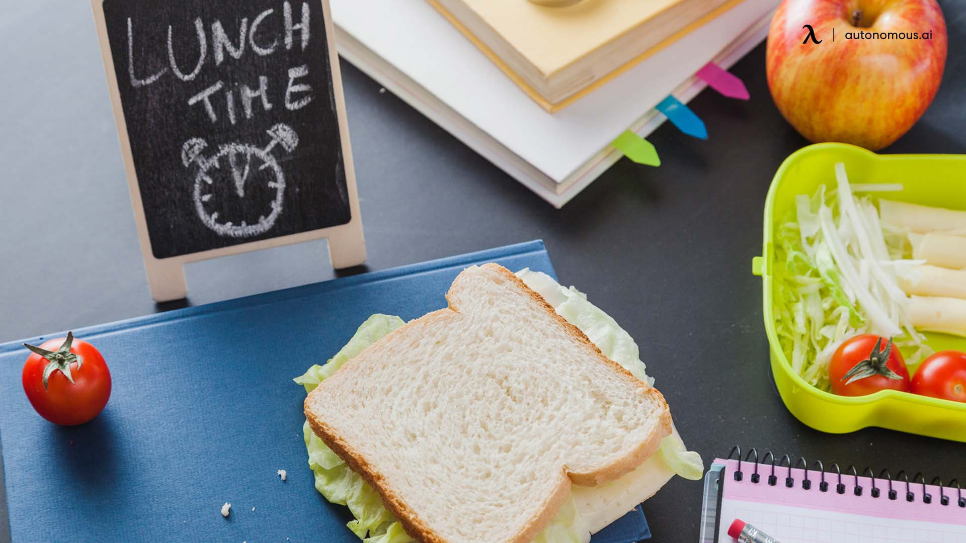 Ways to help optimize your lunch time