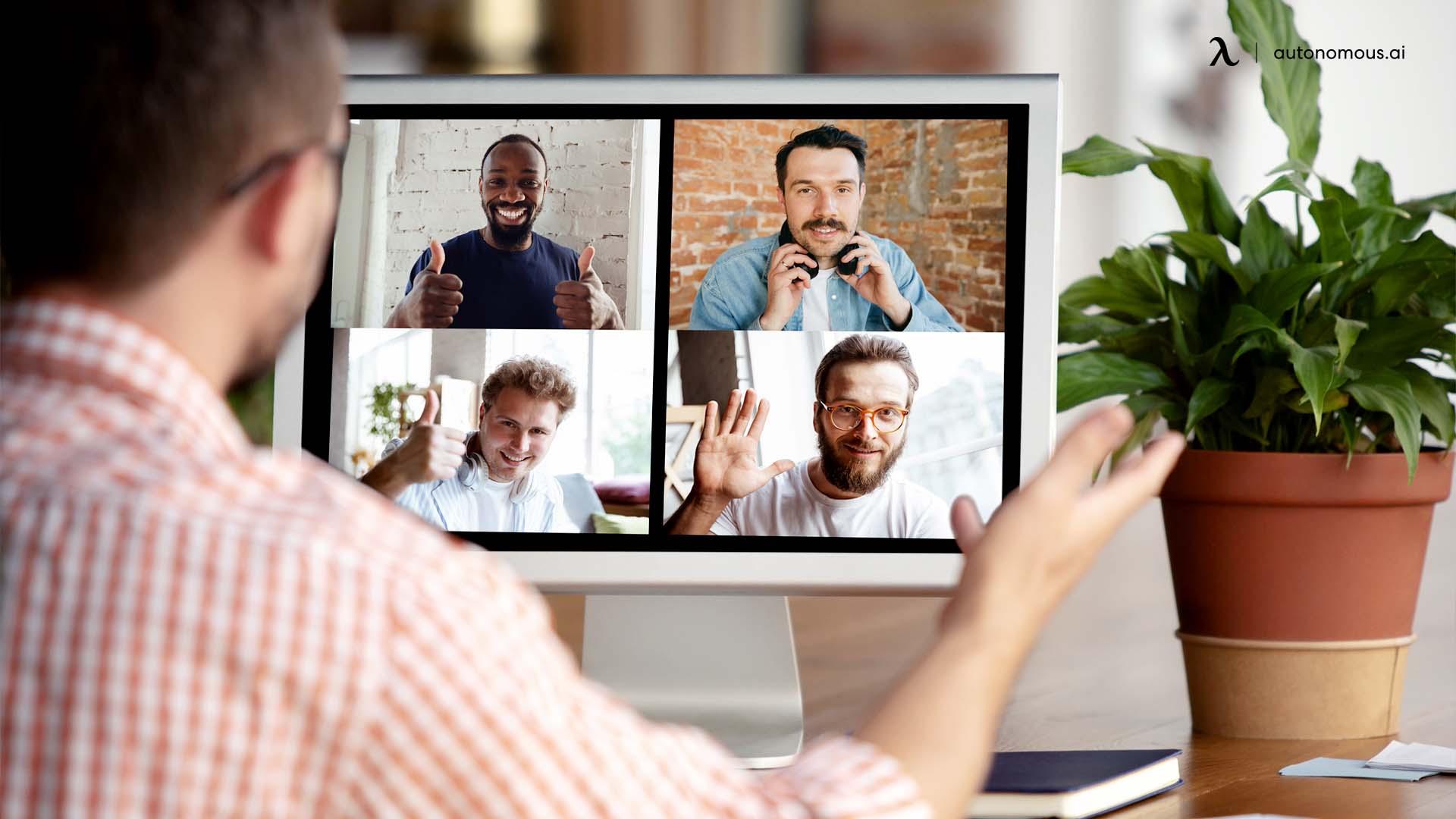 Pros of Virtual Brainstorming