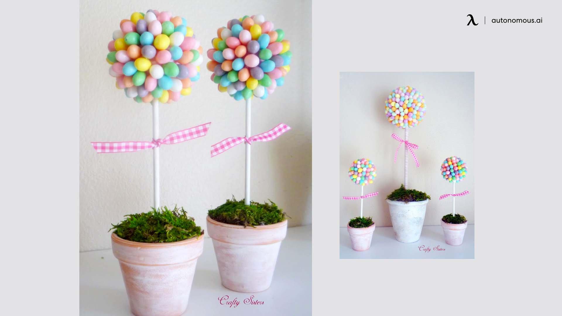 Jellybean Topiaries
