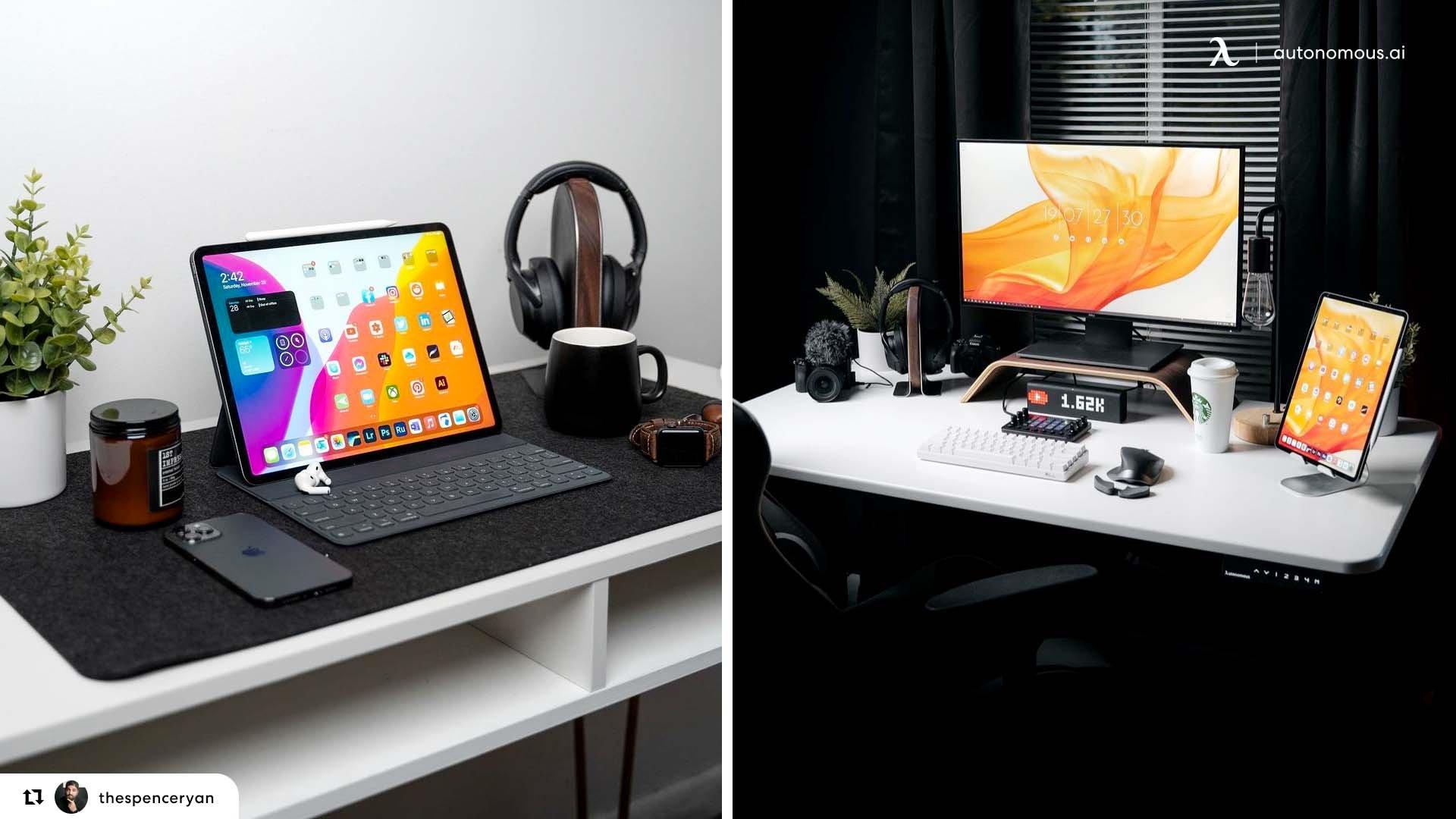 Apple Desk Setup