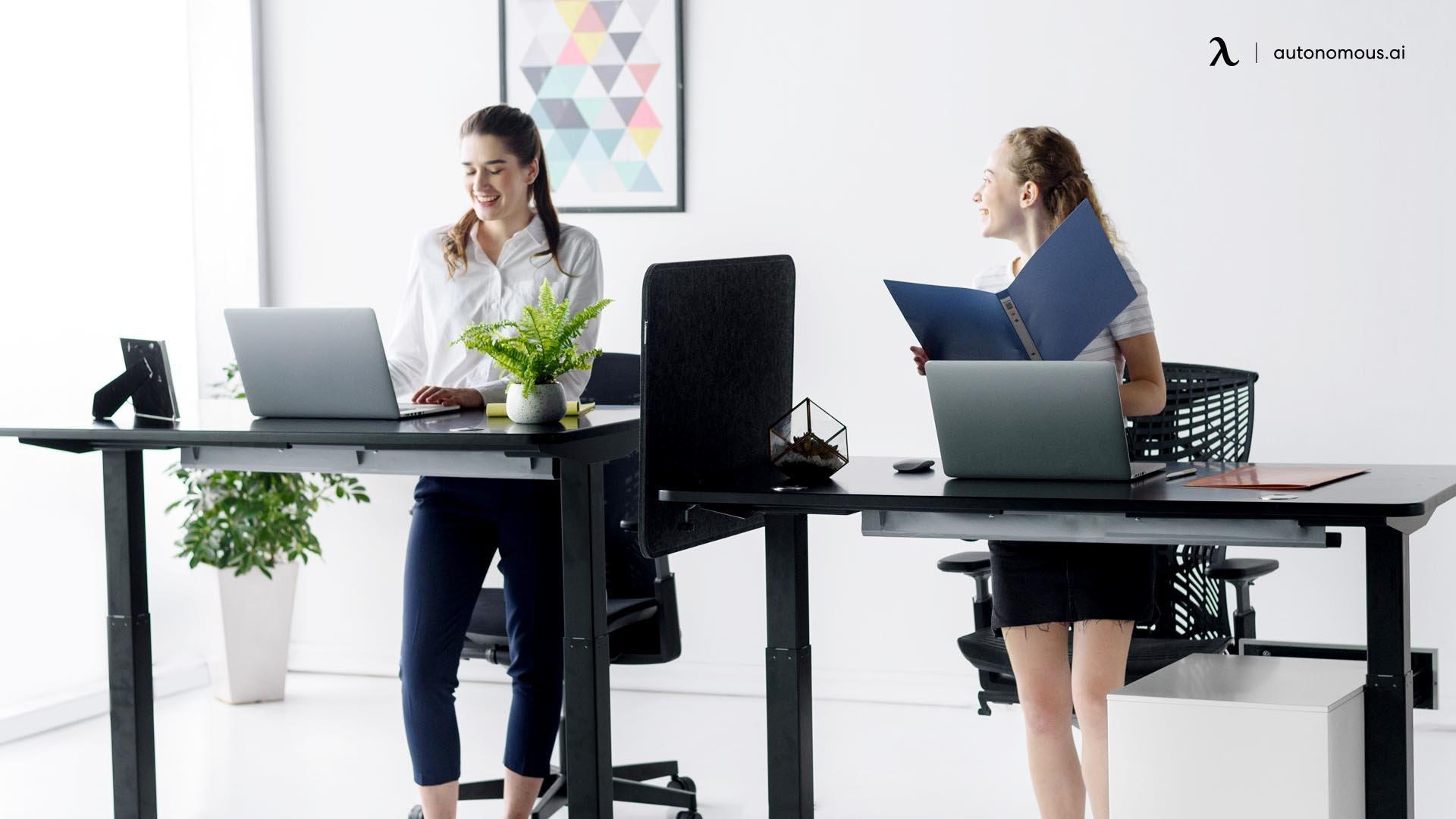 Consider the desk height