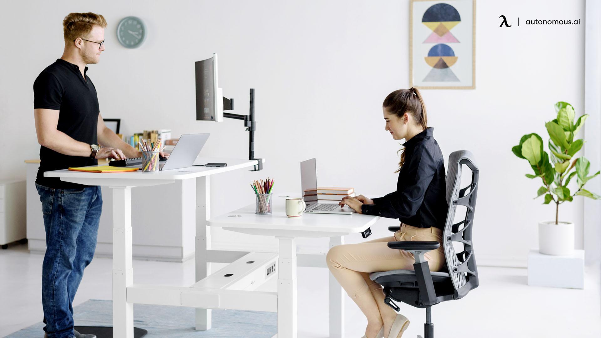 Types of Standing Desks 2