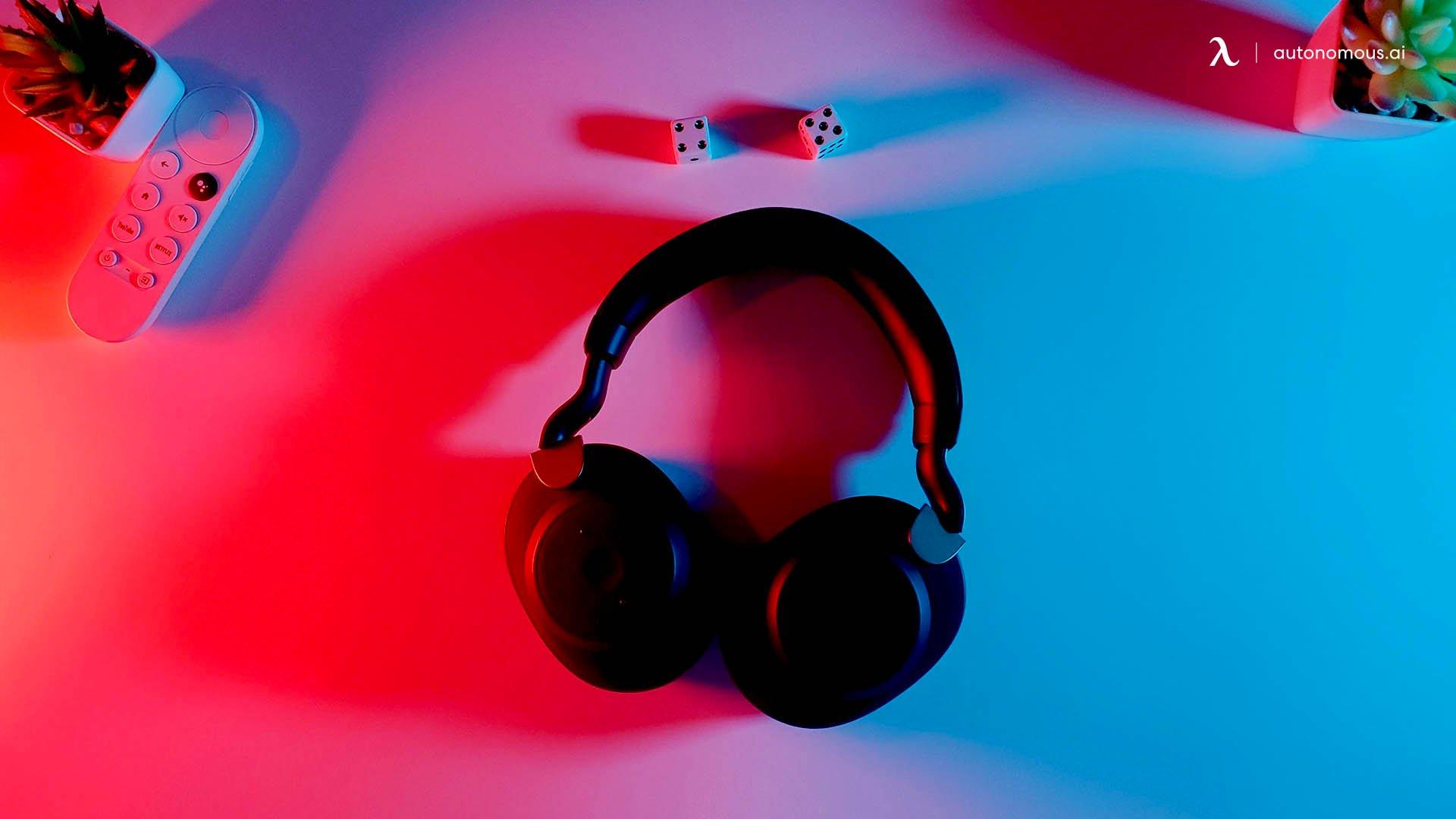 Opt for Headphones Over Speakers