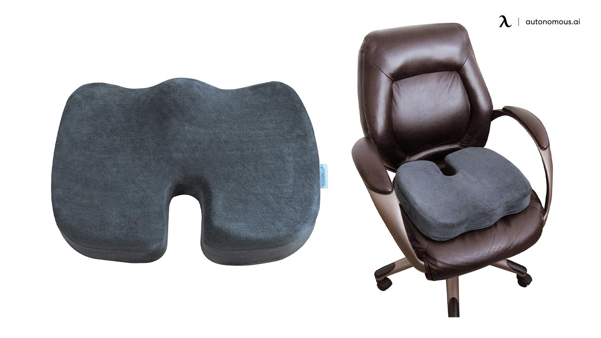 TravelMate's latest Coccyx Orthopedic Gel seat cushion