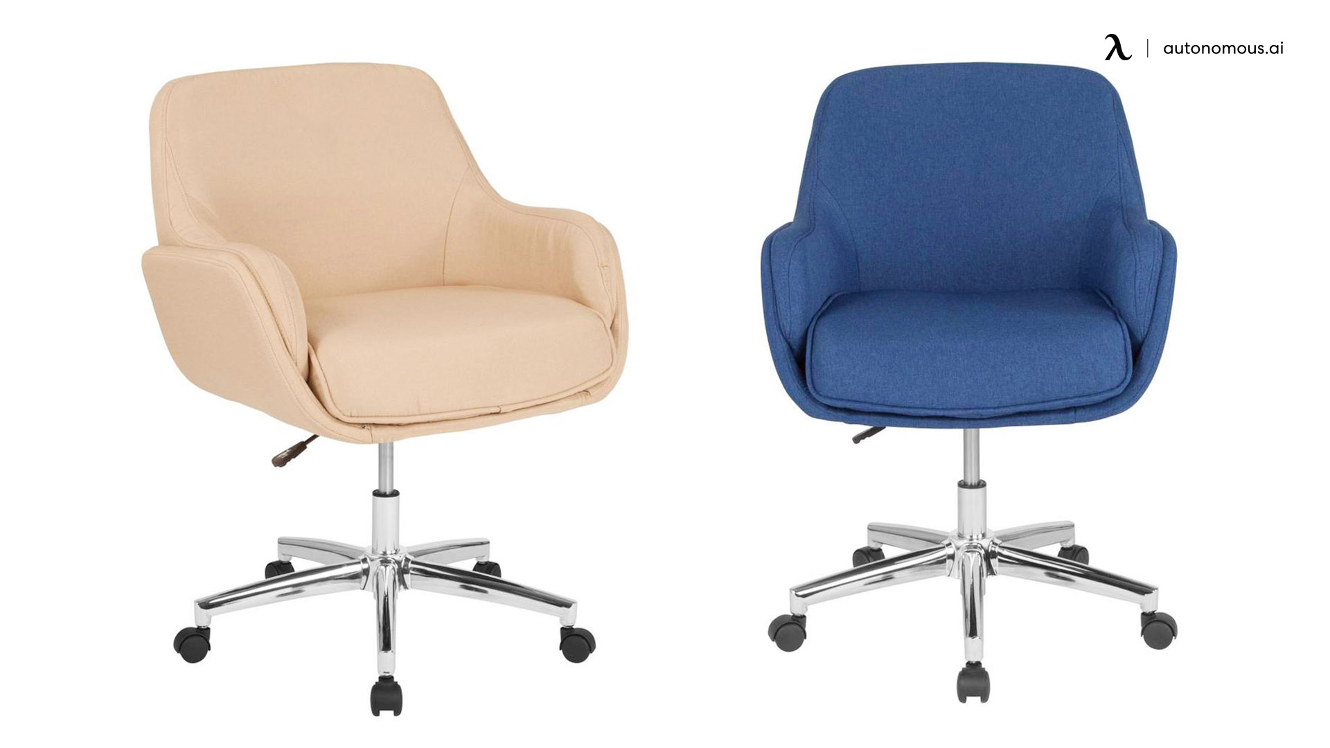 Rochelle Contemporary Adjustable Height Swivel Executive Chair