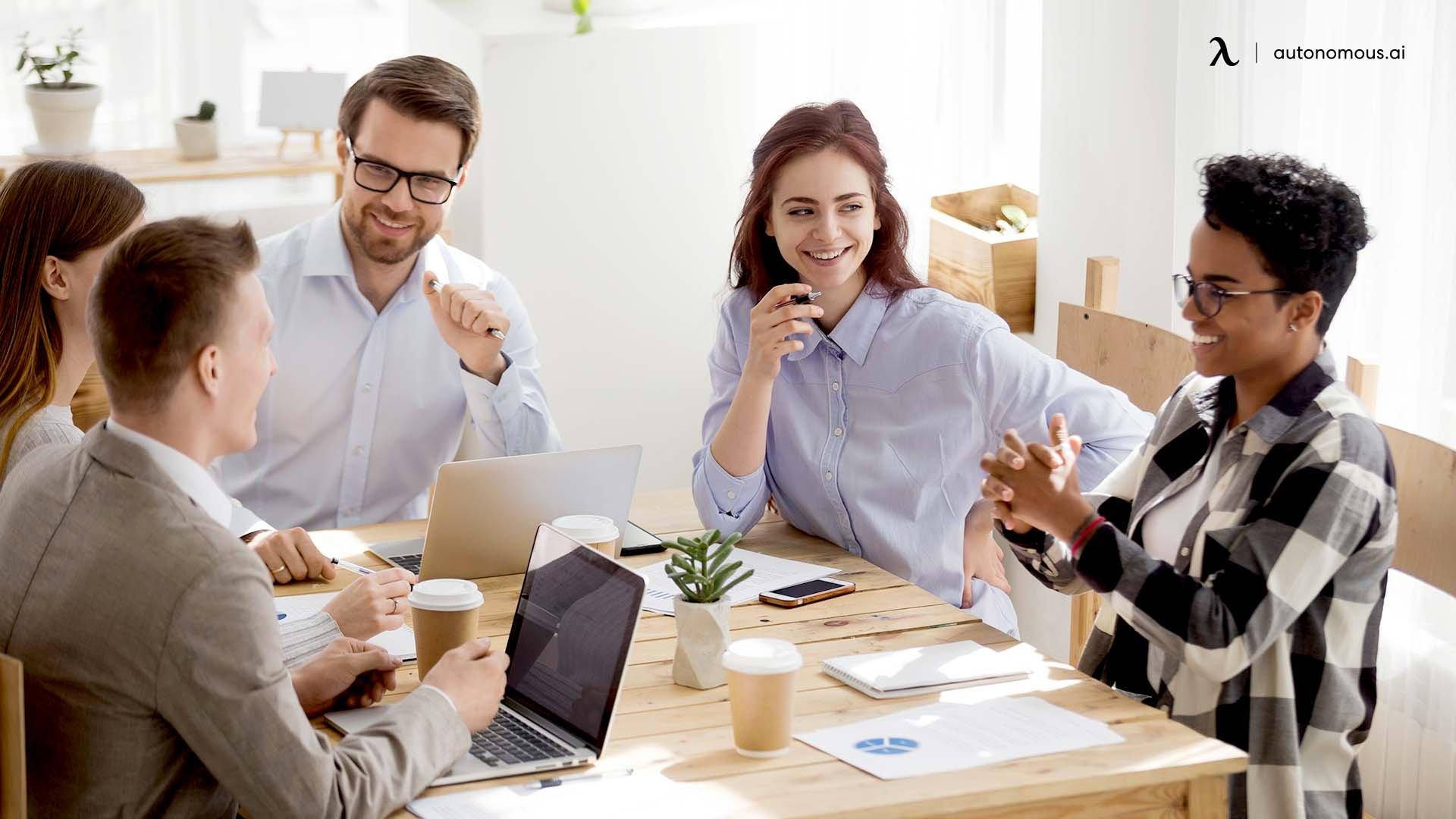 Openess between coworkers