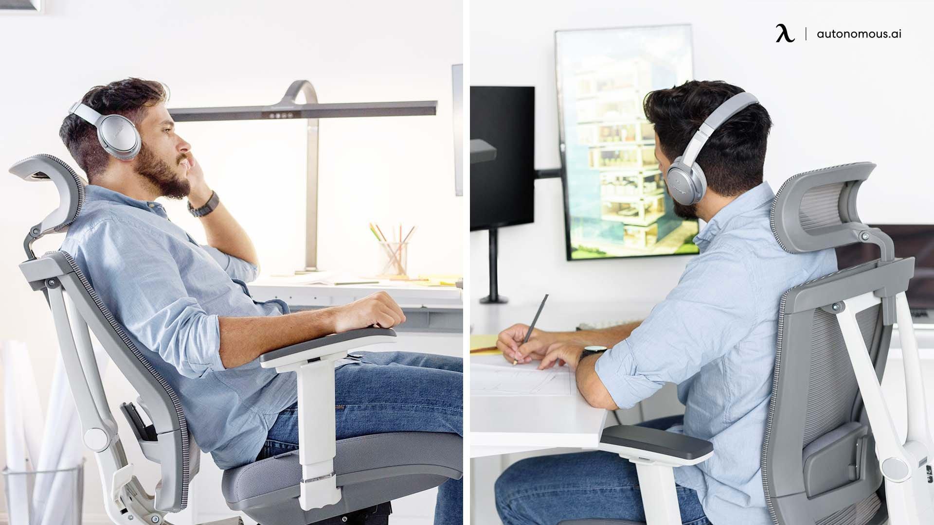 use a backrest