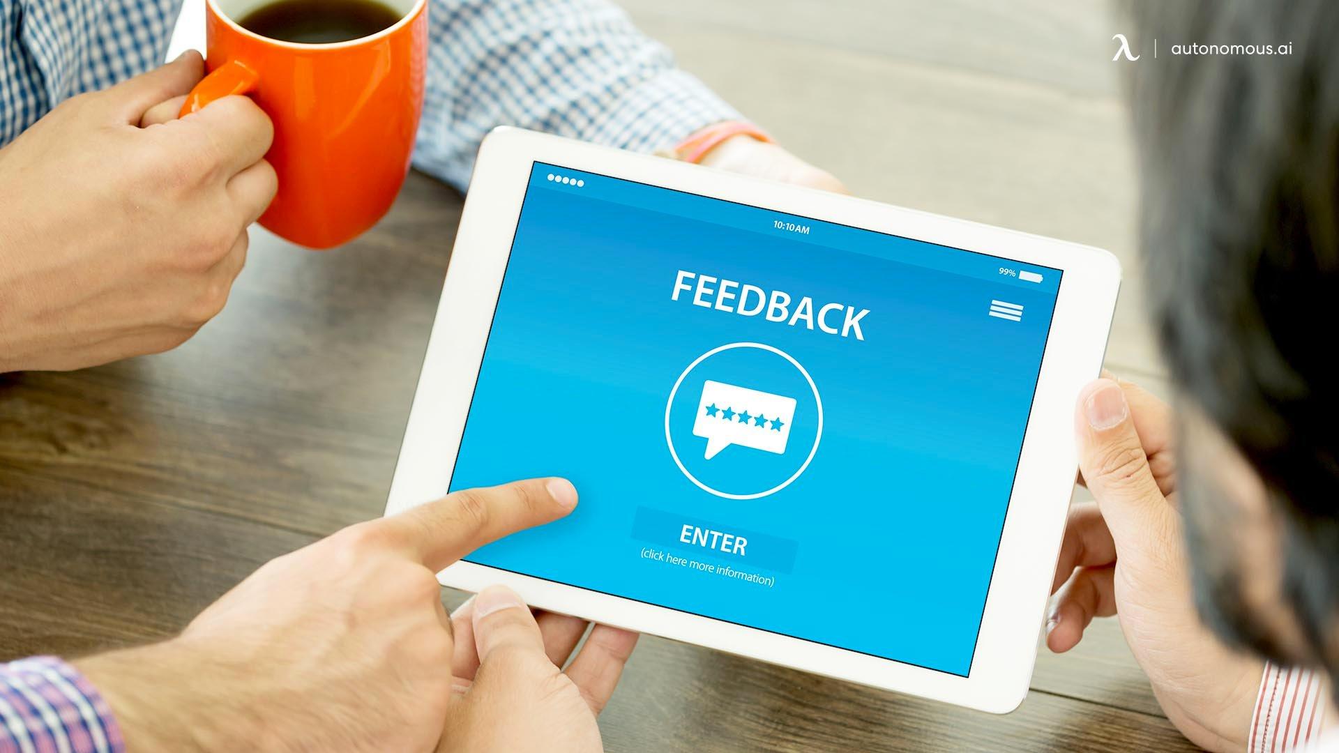 Focus on Employee Feedback
