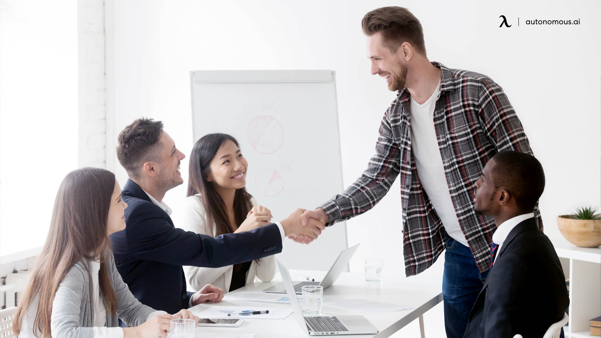 Welcoming new employees
