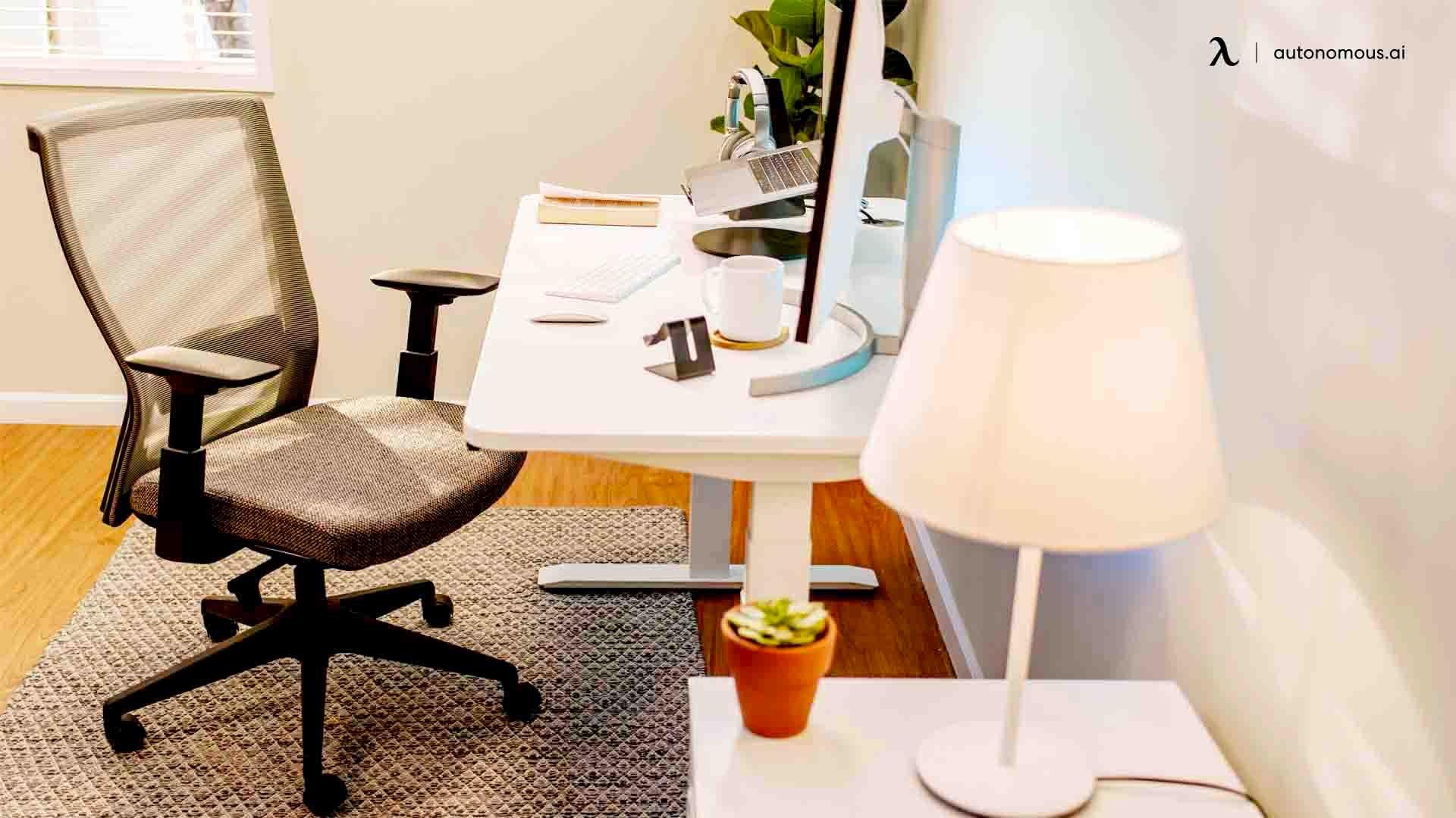 Invest in ergonomic office furniture