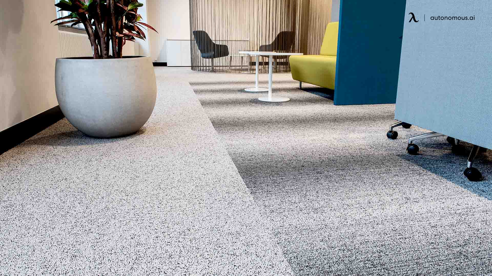 carpet and vinyl flooring