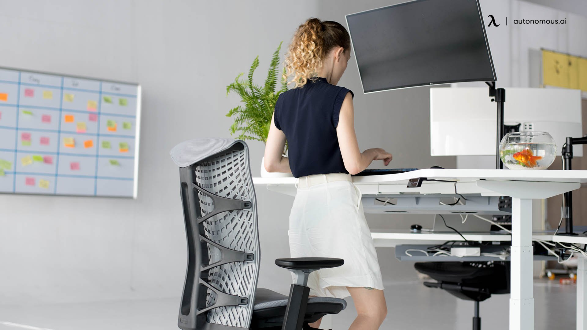 Why should people use a standing desk?