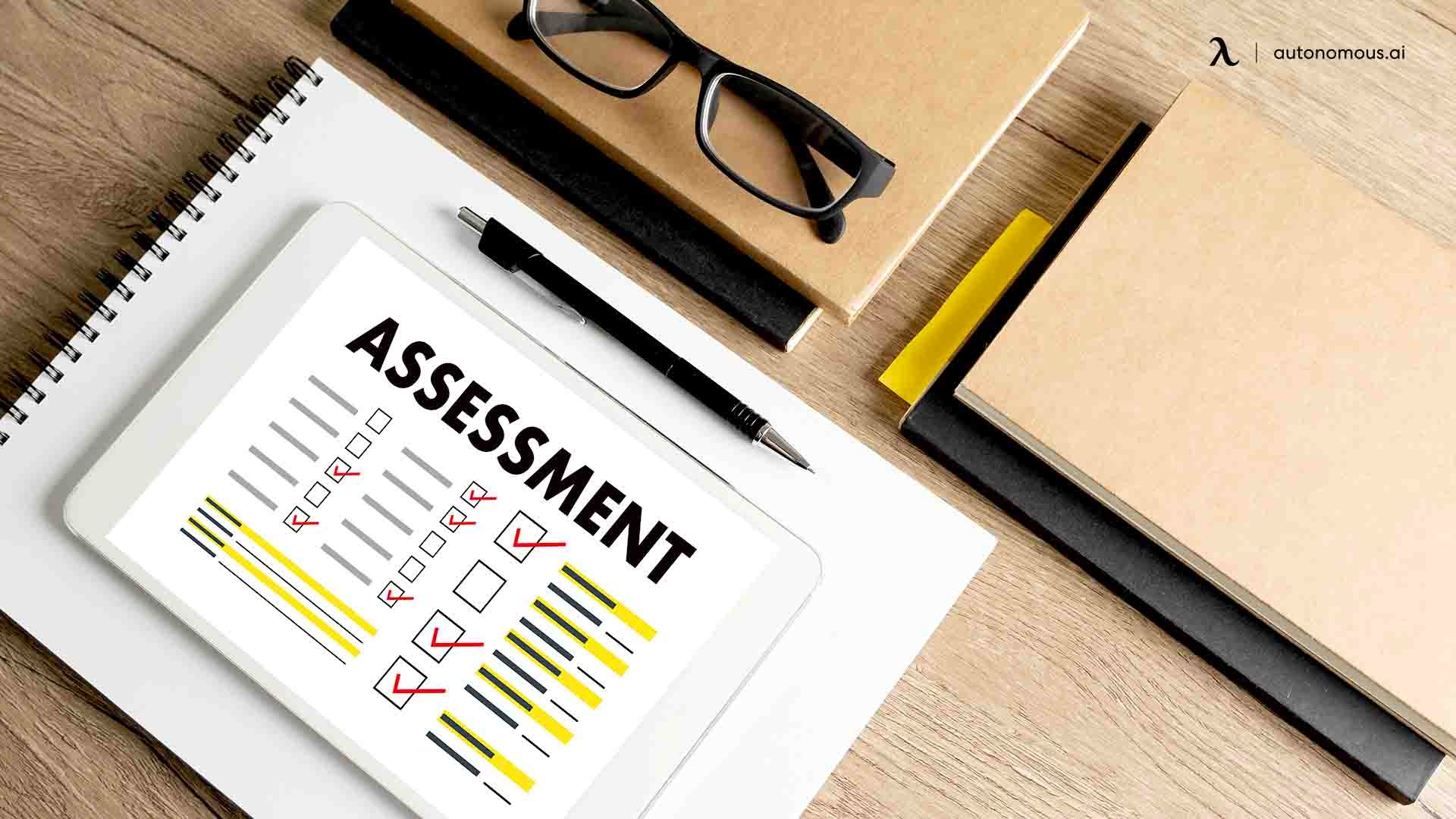 Parameters of employee performance assessment