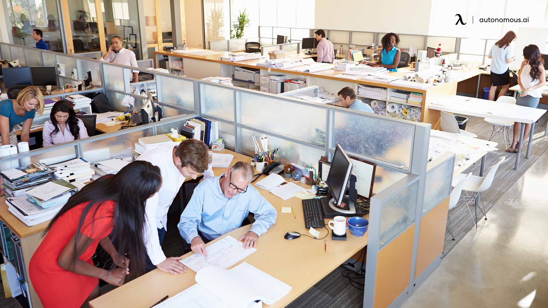 How to Create Privacy in an Open Office