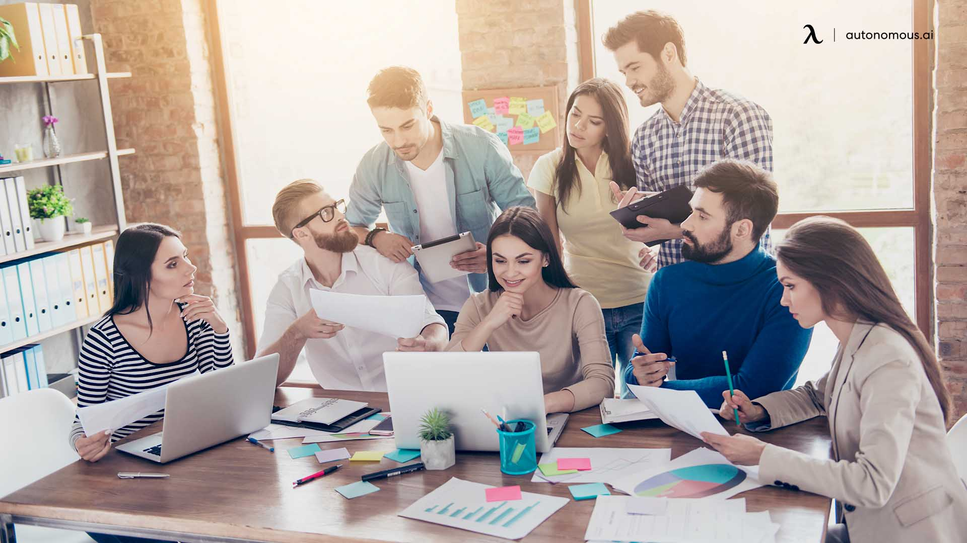 Hot Desking Can Be Distracting for Some People