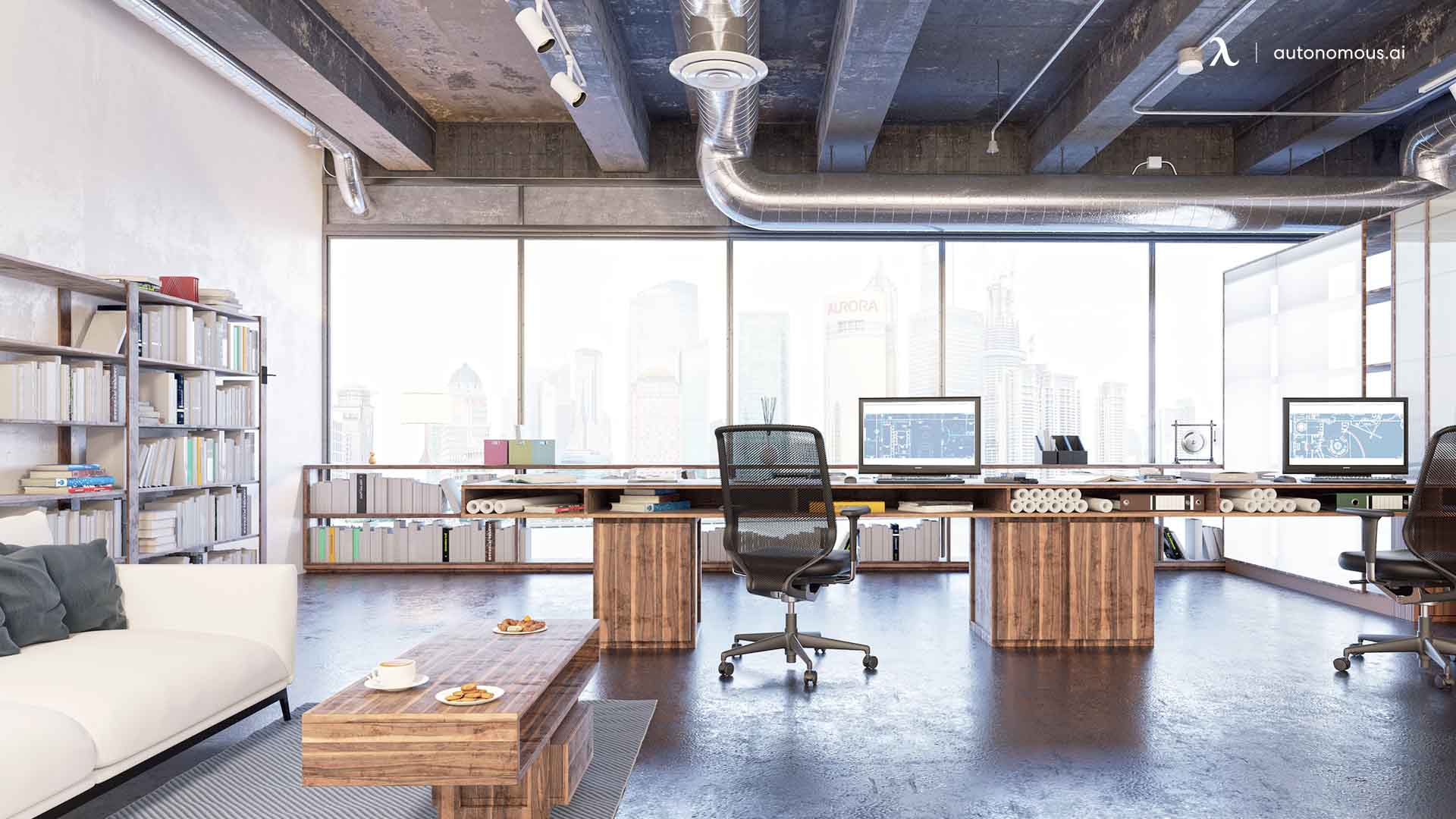 coworking office layout