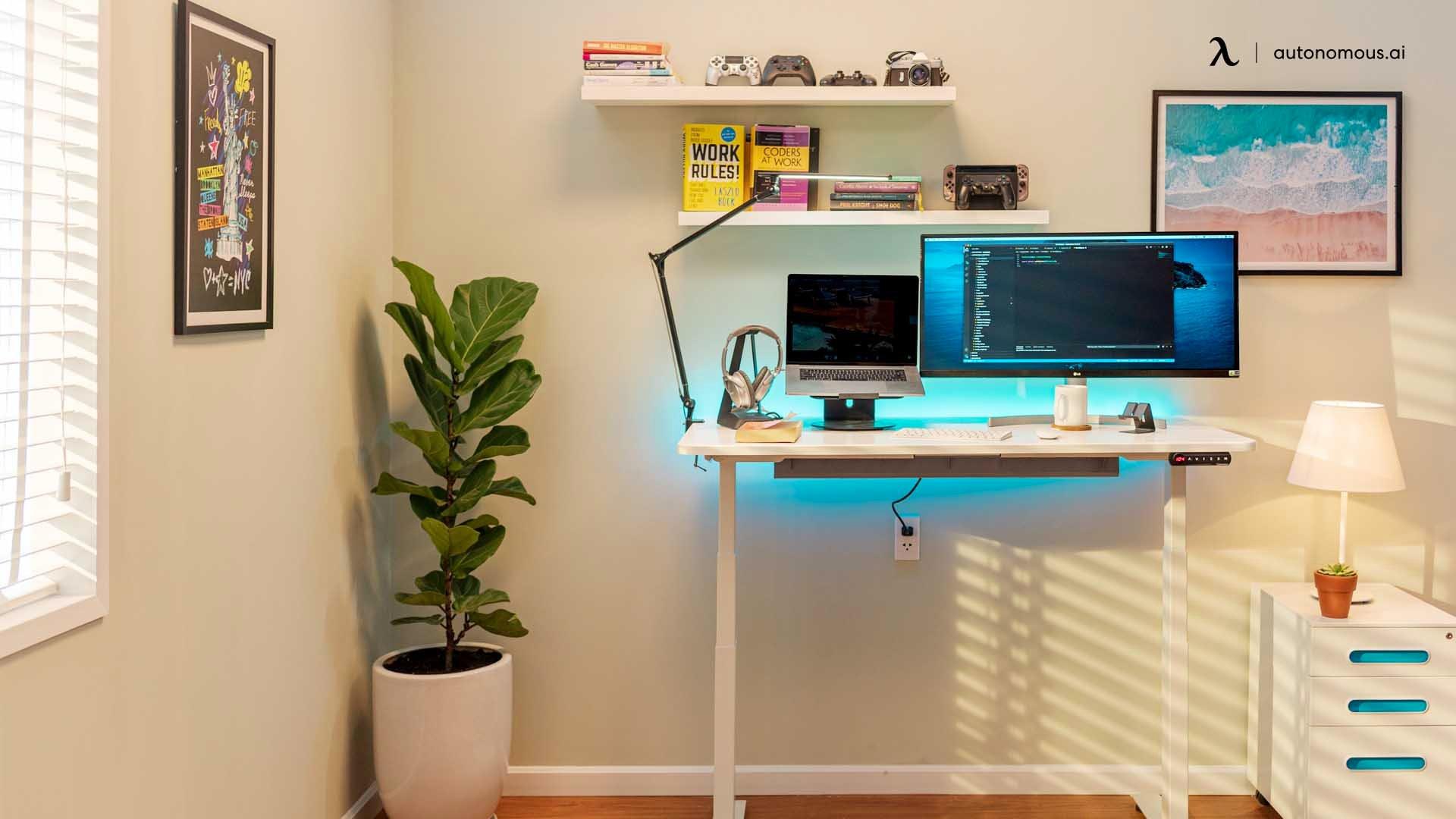 hybrid office layout
