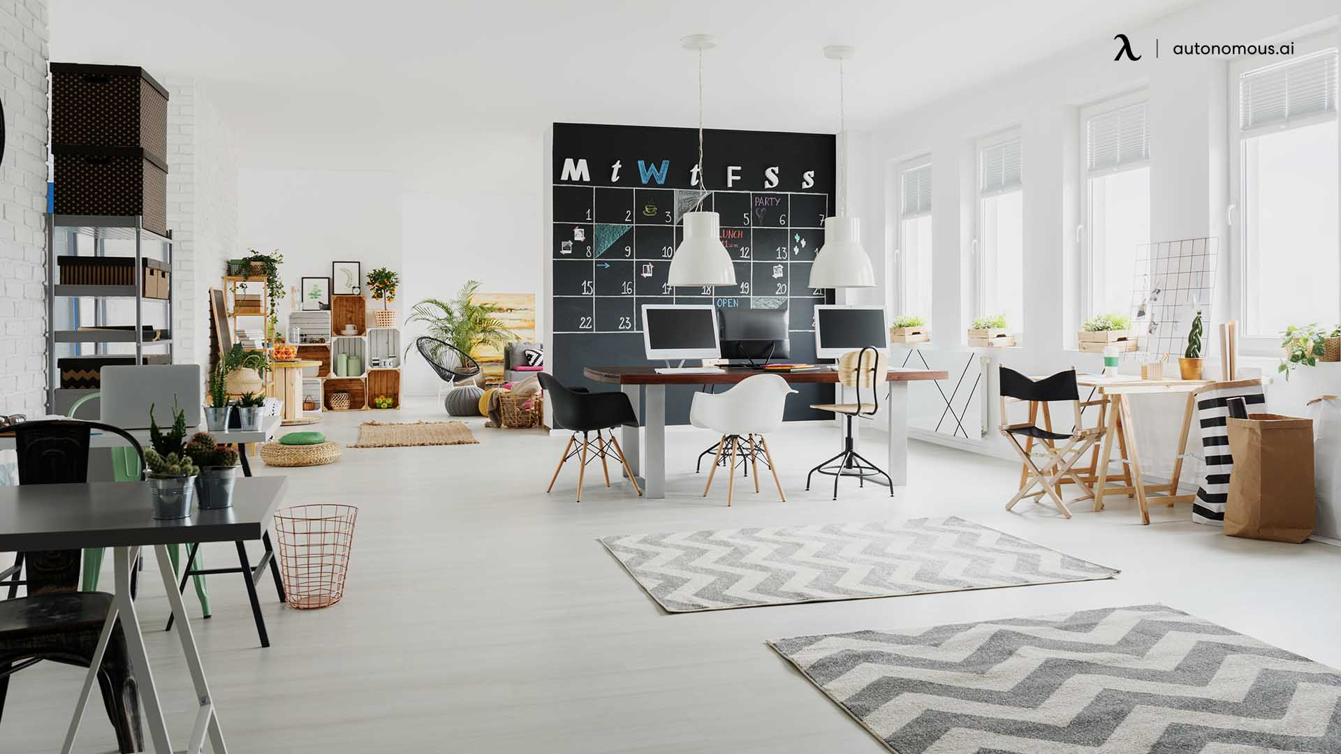 Provide Efficient, Attractive Workstations