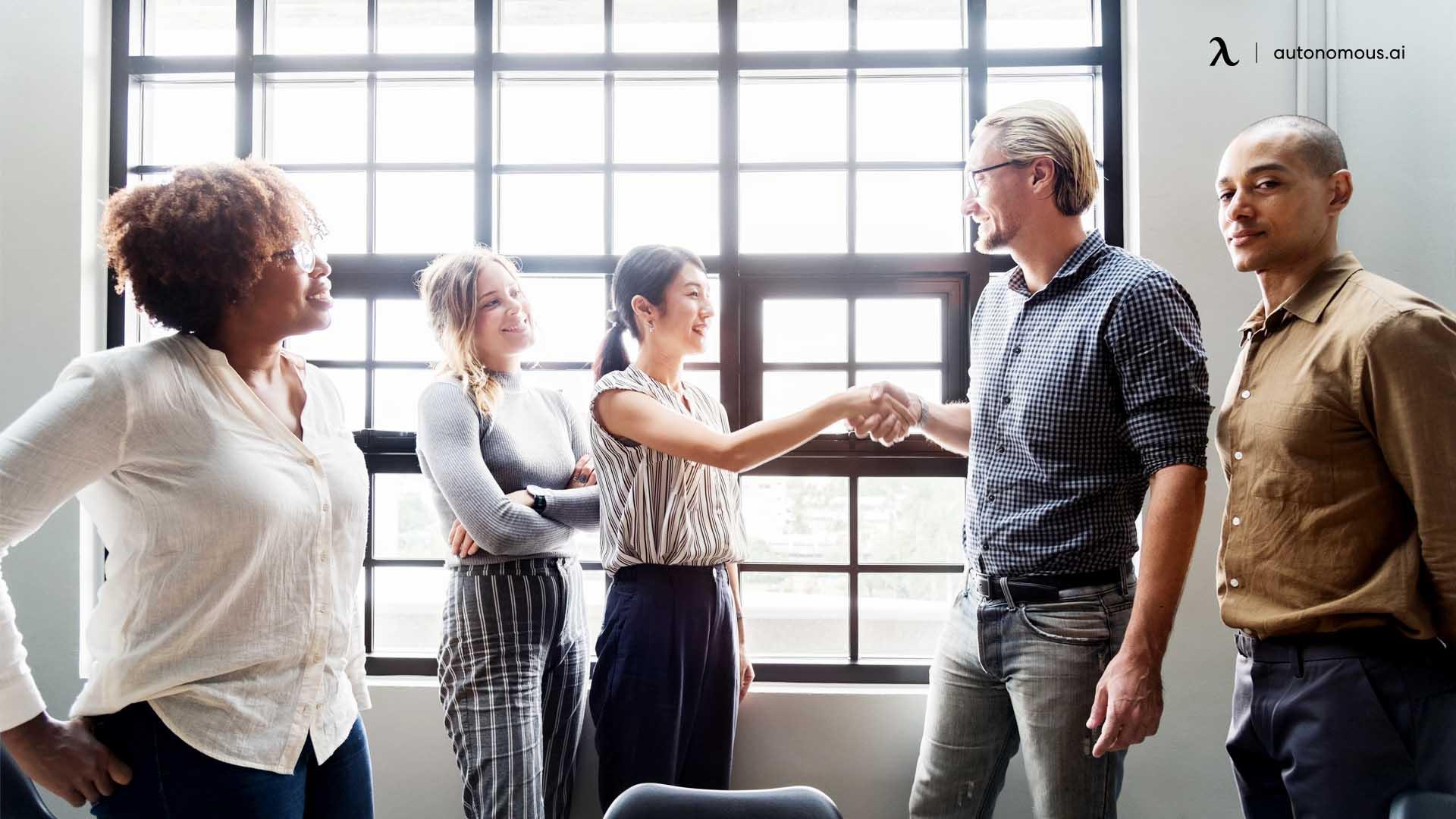 Builds a better employer/employee relationship