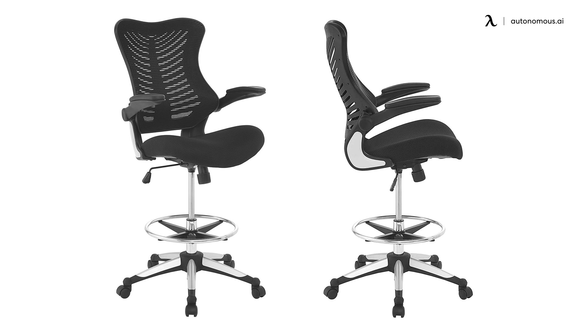 Ergonomic Charge Drafting Chair by Modway