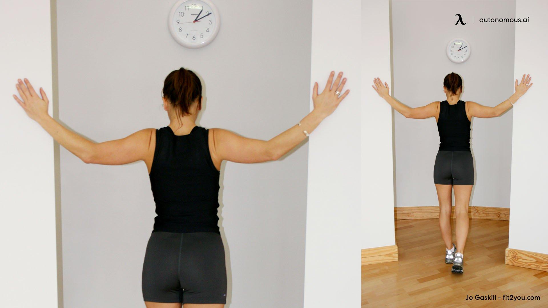Doorway Shoulder Stretches