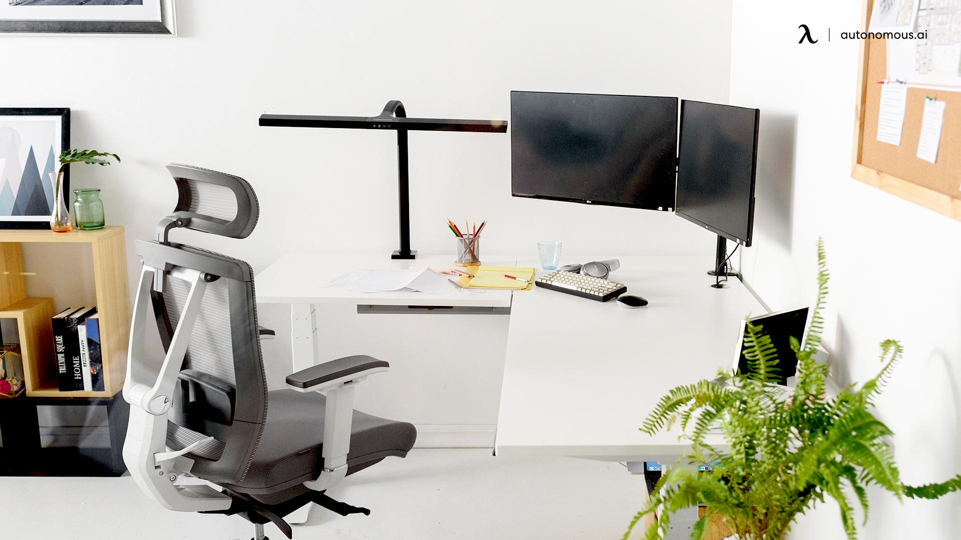 Why Should You Invest in a Standing L-Shaped Desk for Your Home Office?