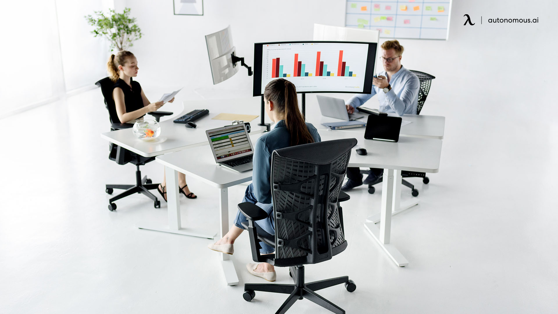 share desk chair