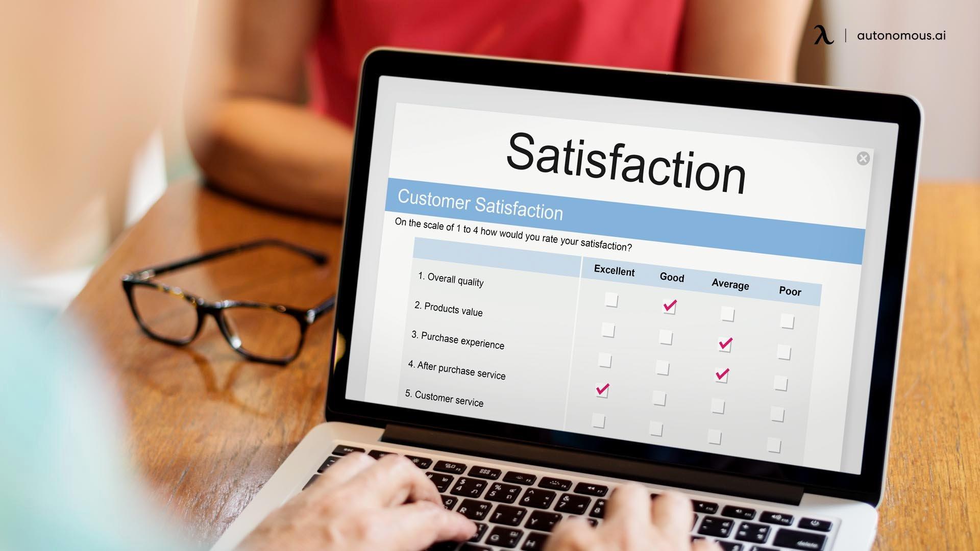 Satisfaction Questions