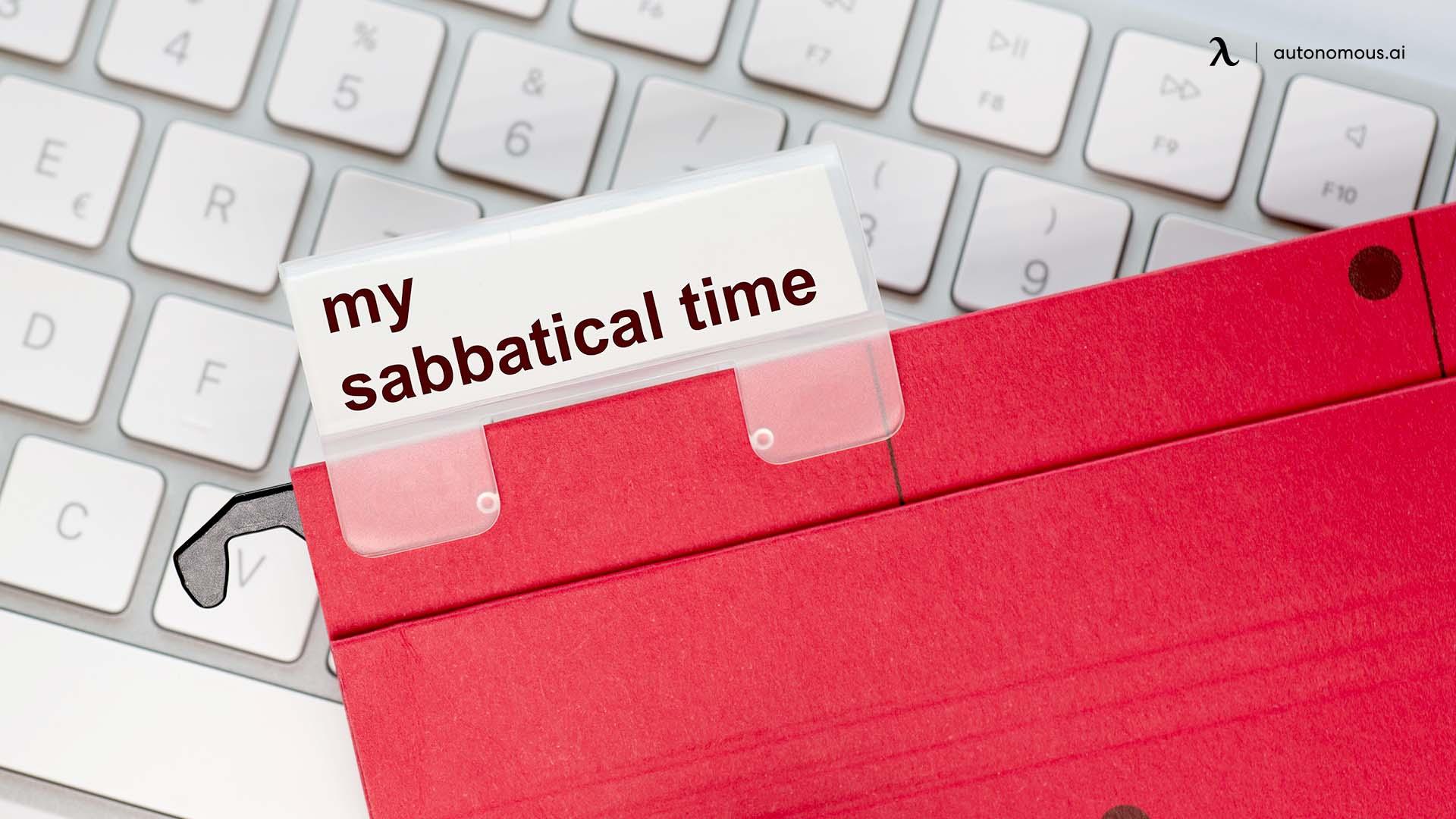 Long-term Sabbatical Leaves