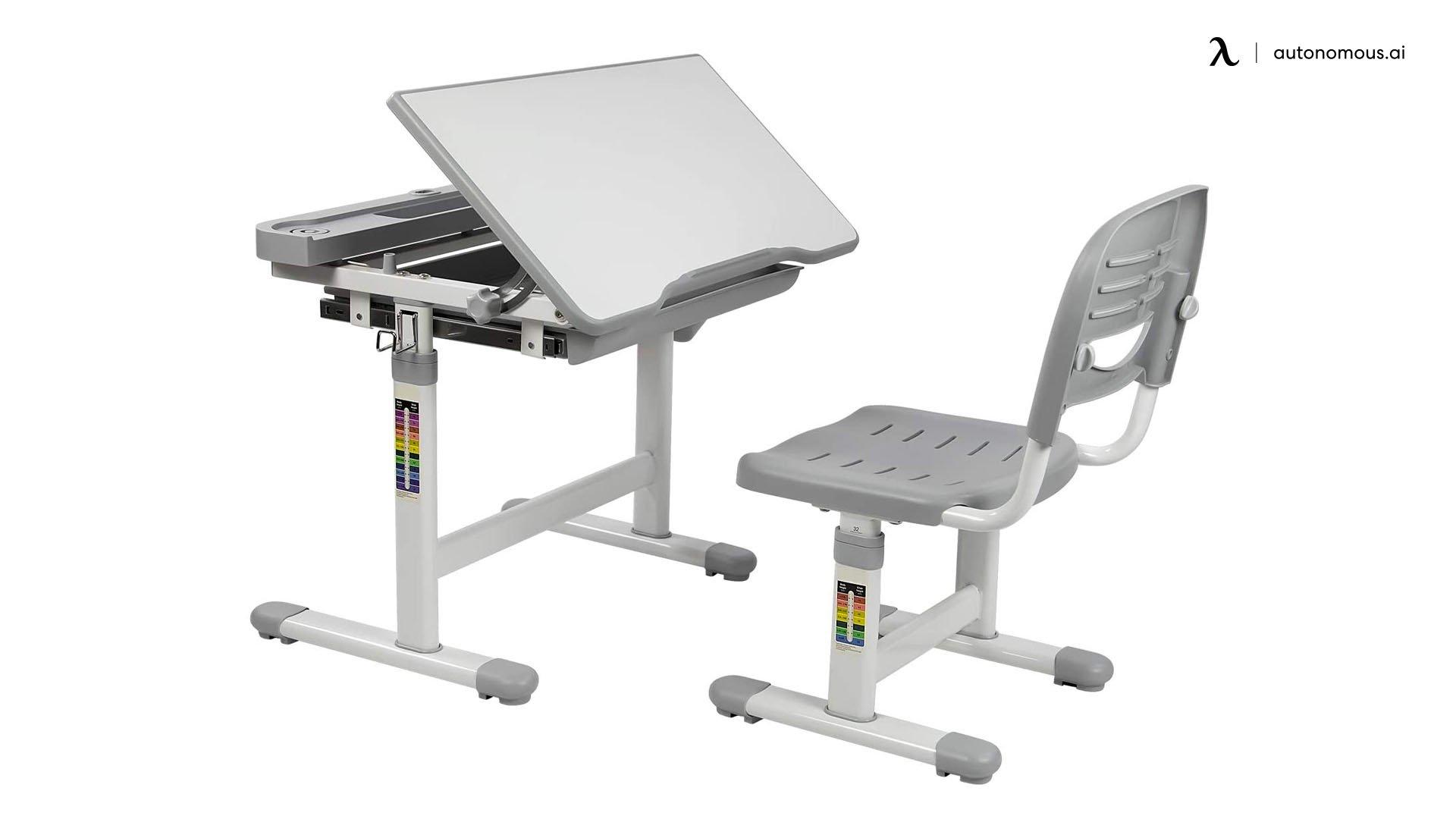 Mount-It! Height-Adjustable Kids Desk