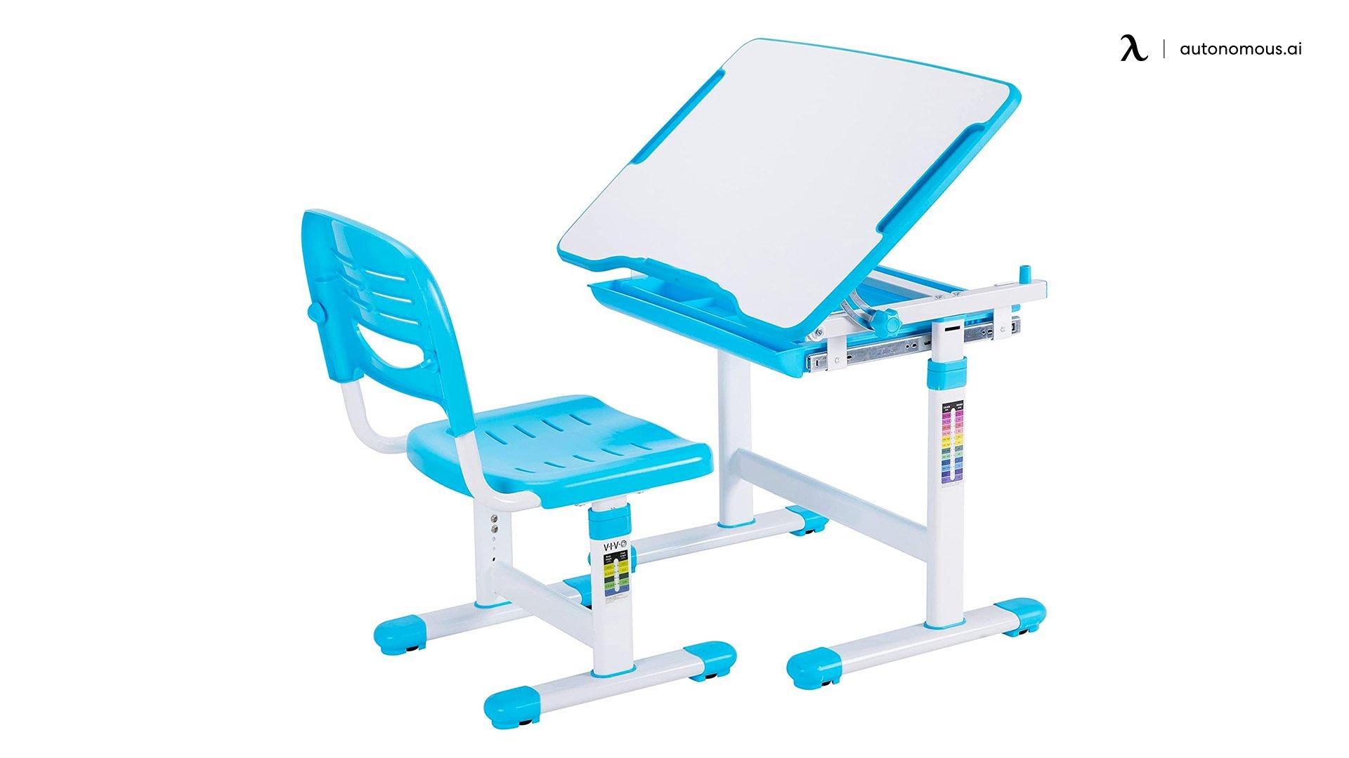 Vivo Height Adjustable Children desk