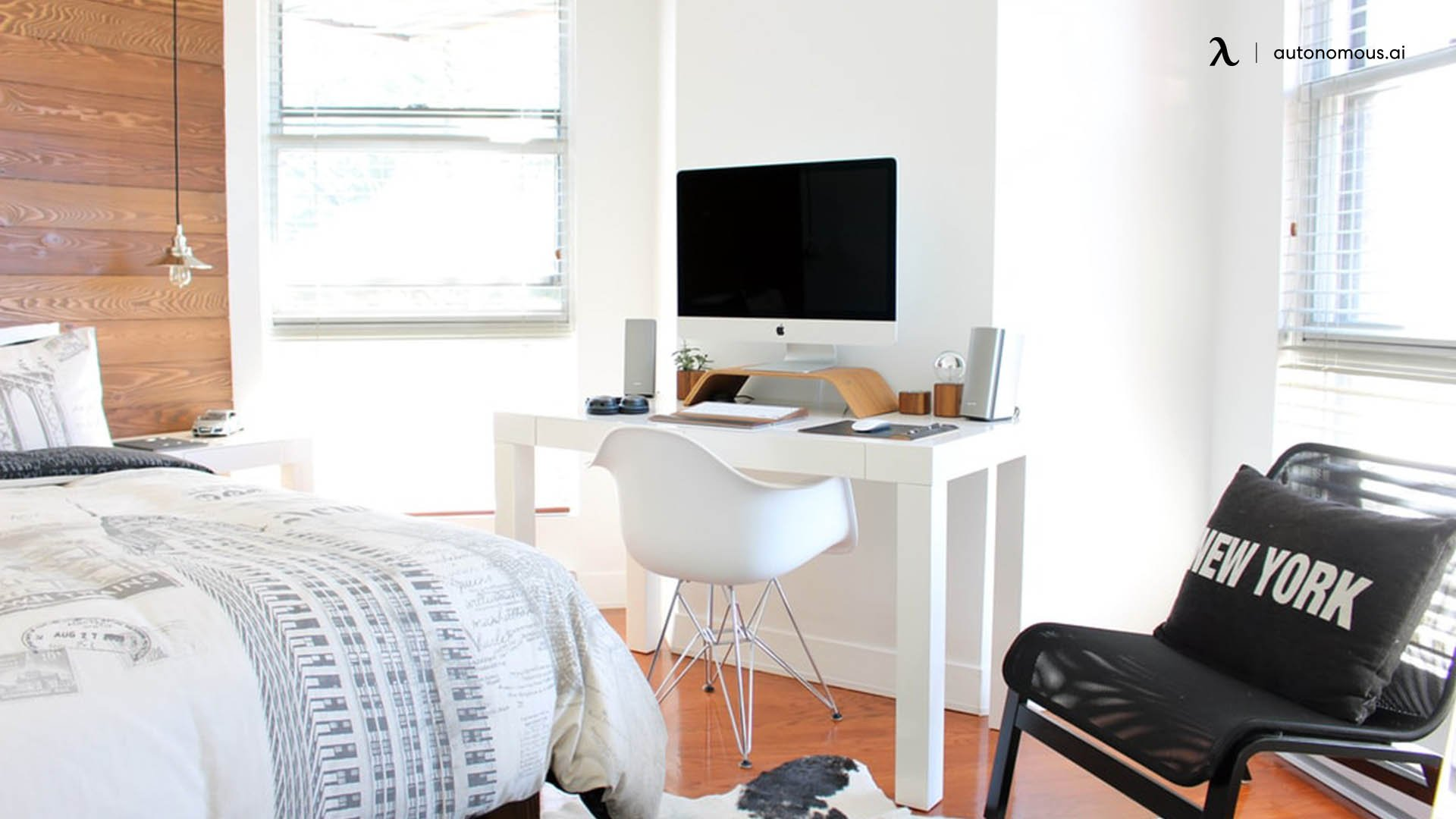 What is a bedroom office combo?