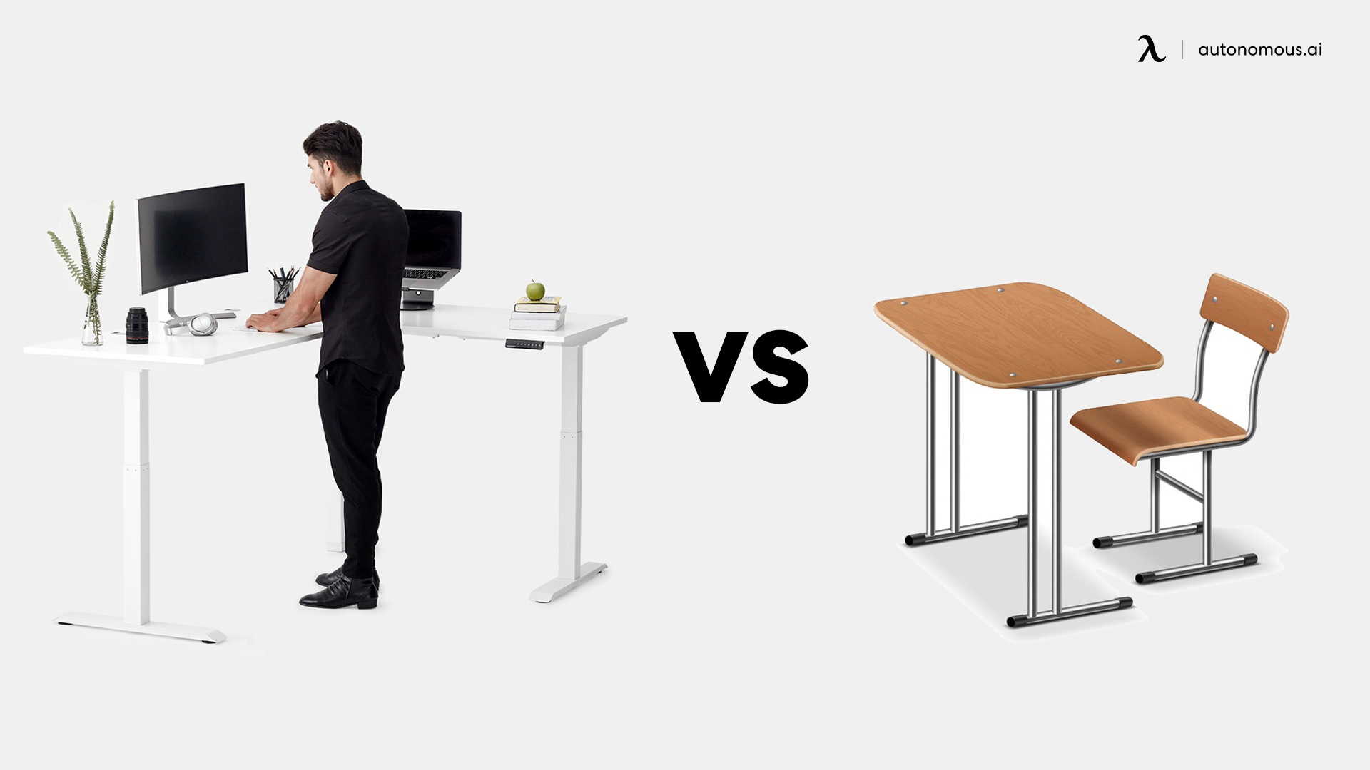 L-shaped Desk vs Normal Office Desk