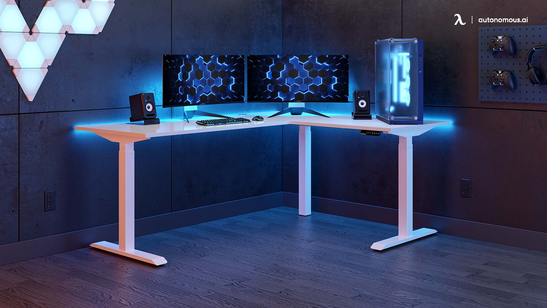 What is an L desk for home office?