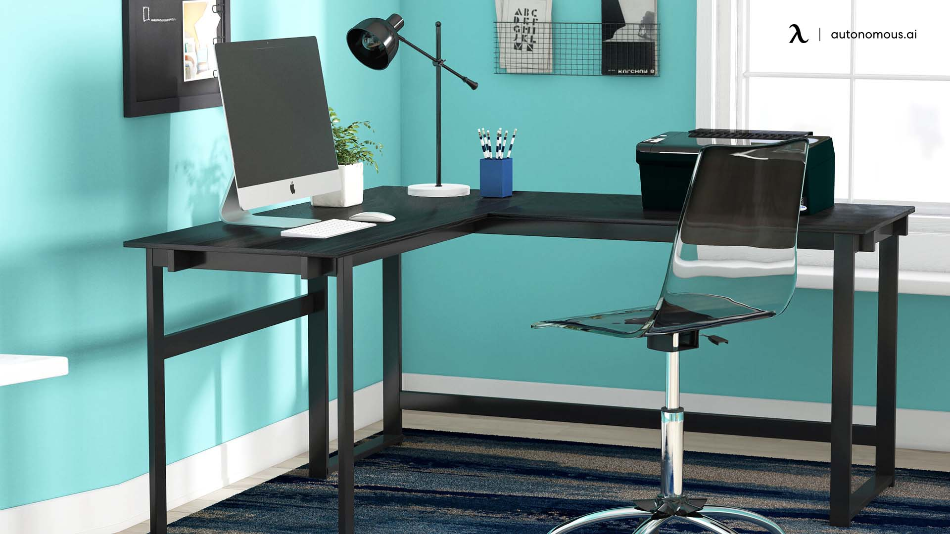 Why an L-shaped Corner Desk for Home Office?