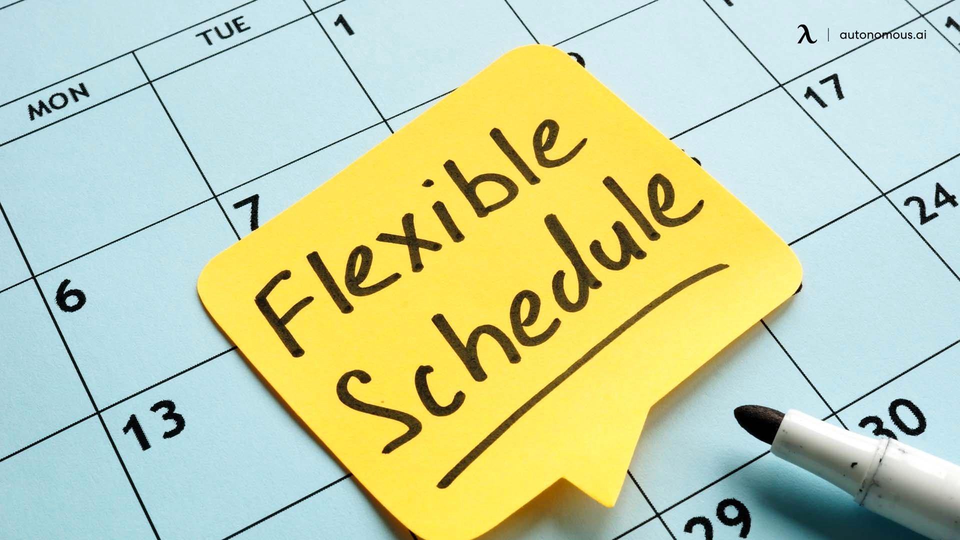 Consider offering better flextime opportunities