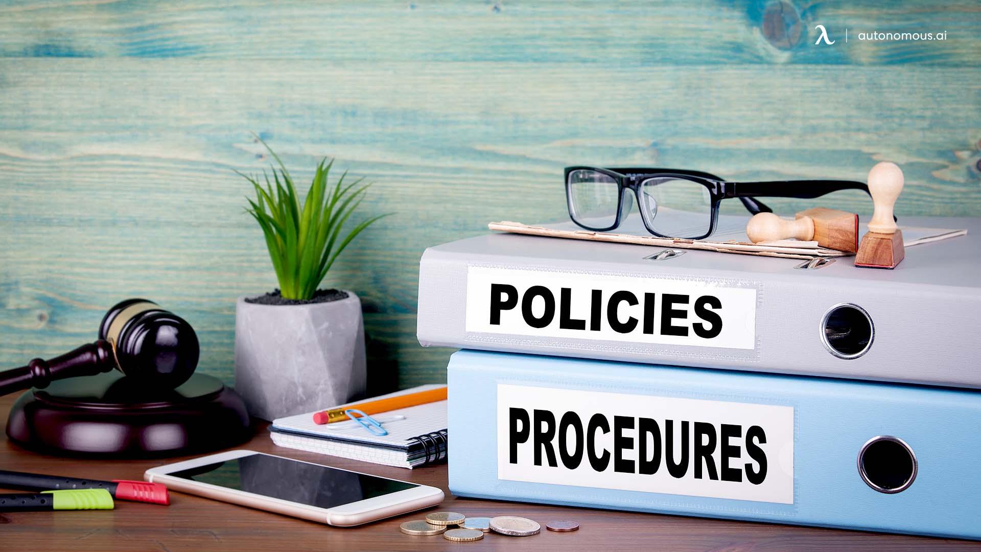 Writing hybrid work policies