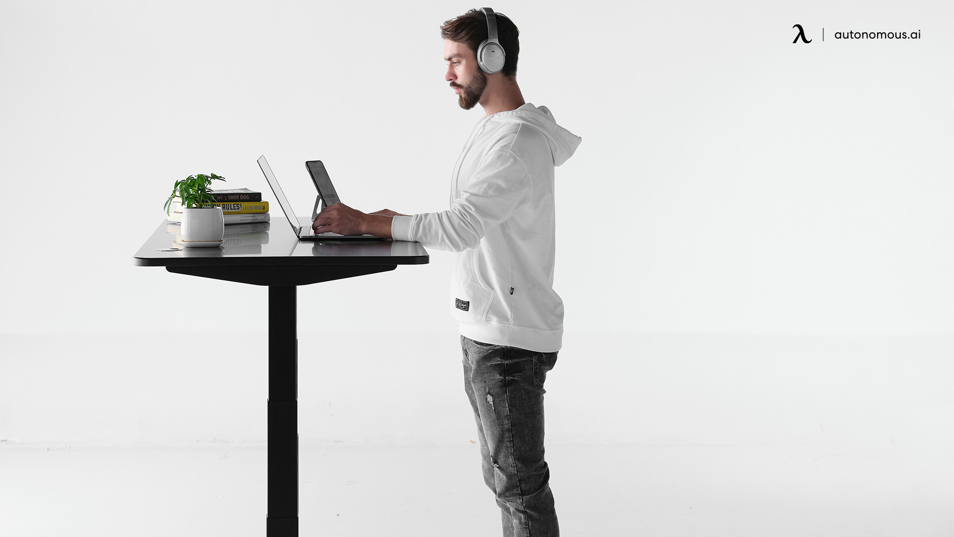 What is the standard desk height?