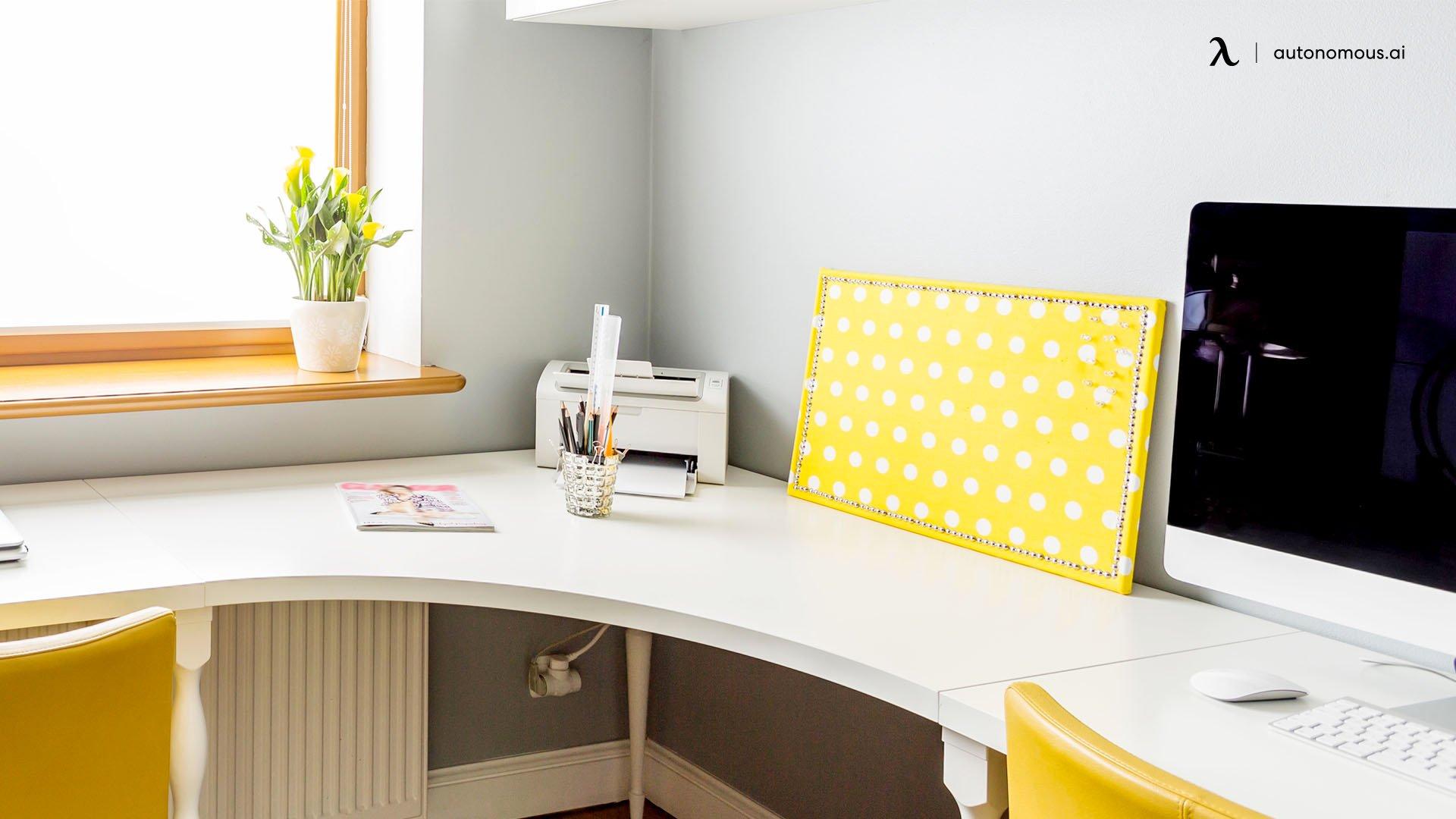 What Is A White Corner Desk?