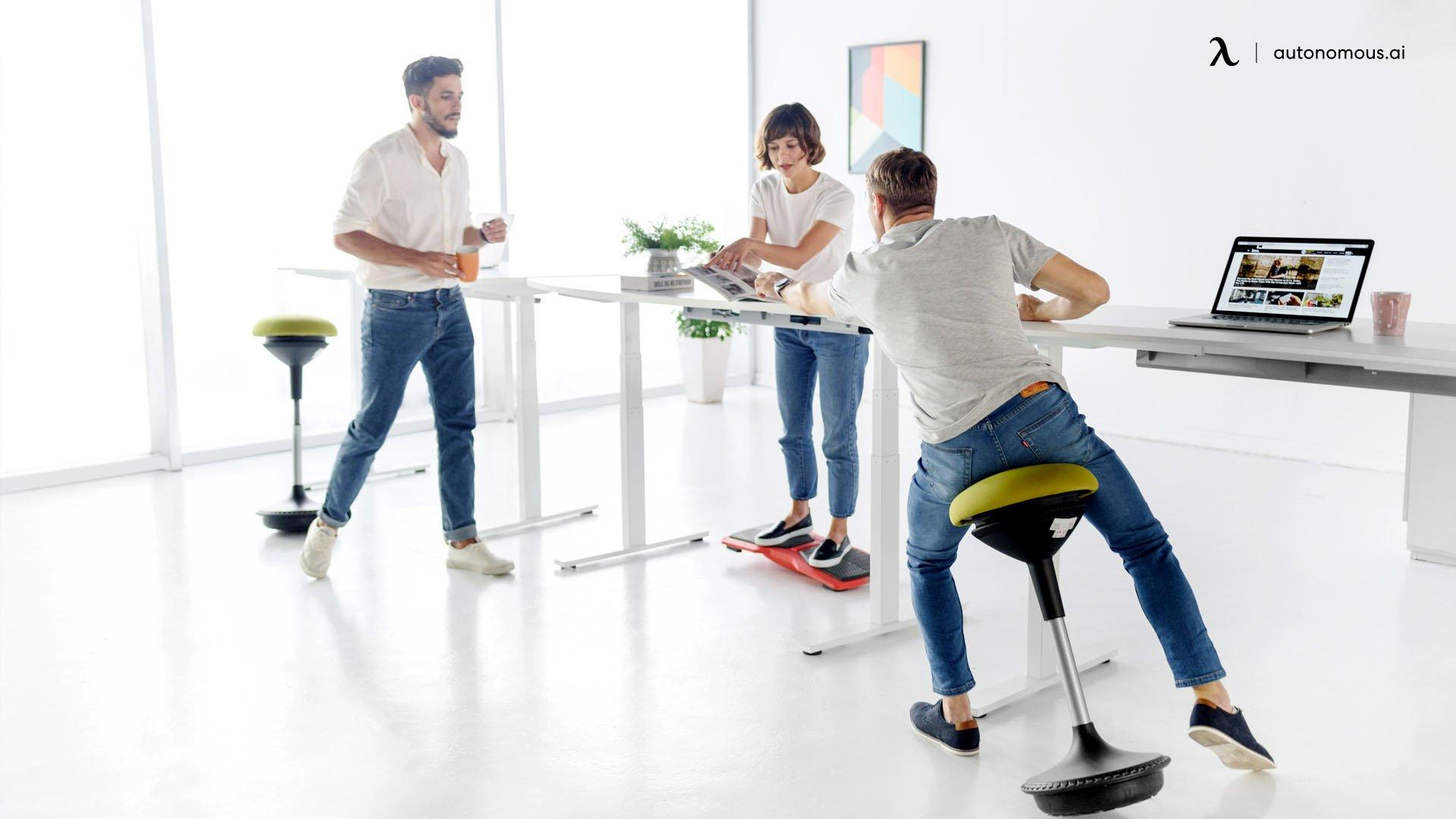 Flexible work office