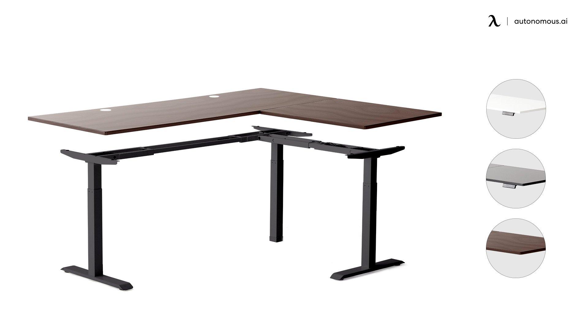 L-Shaped Standing Desk Frame