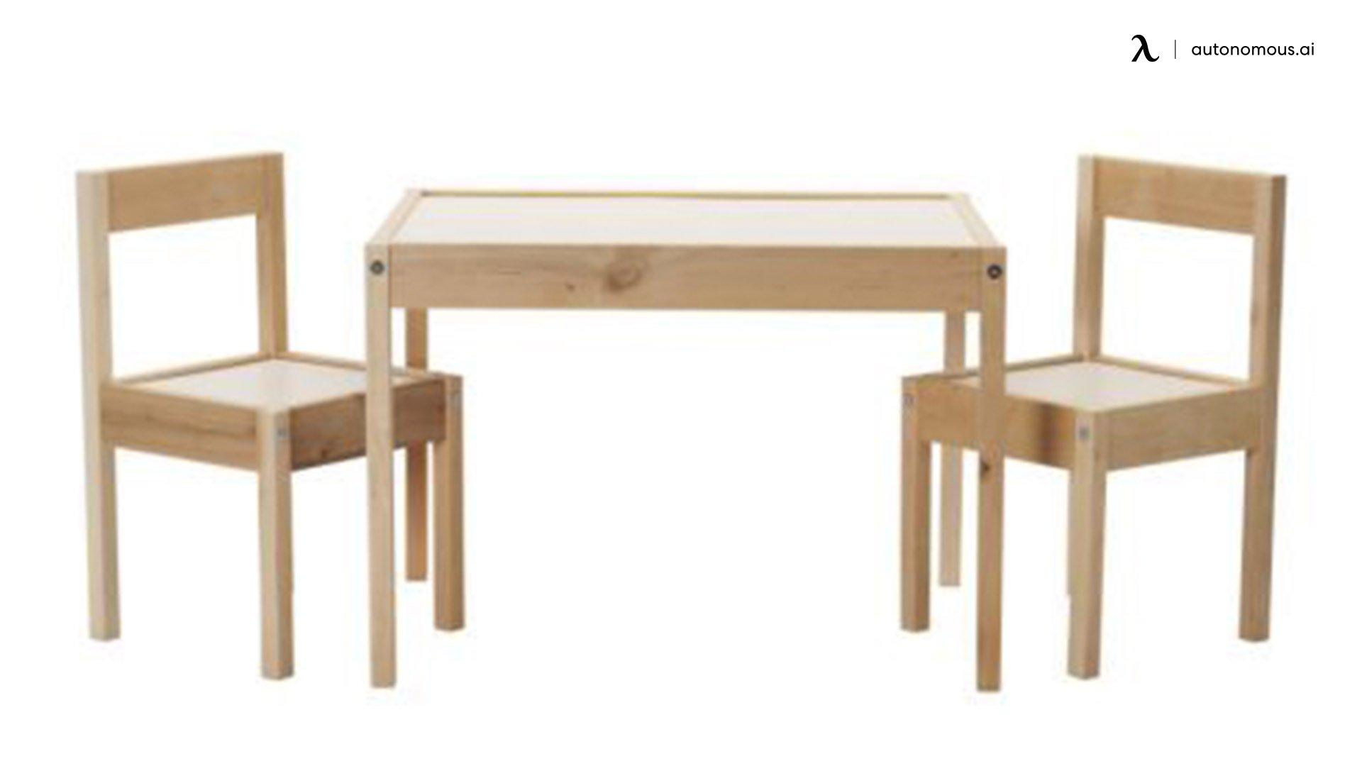 Latt Children's Table and Chairs