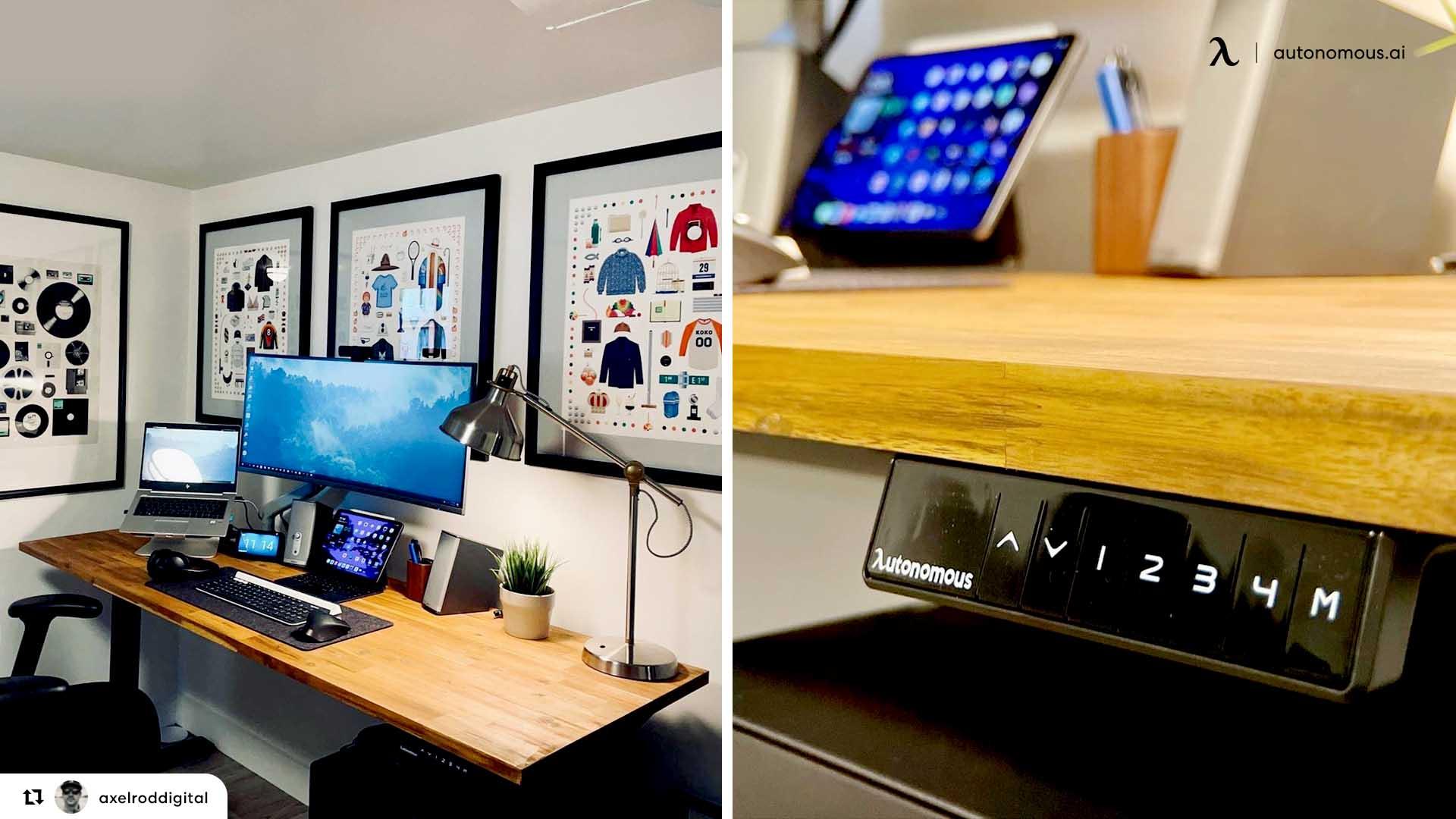 bamboo desk accessories