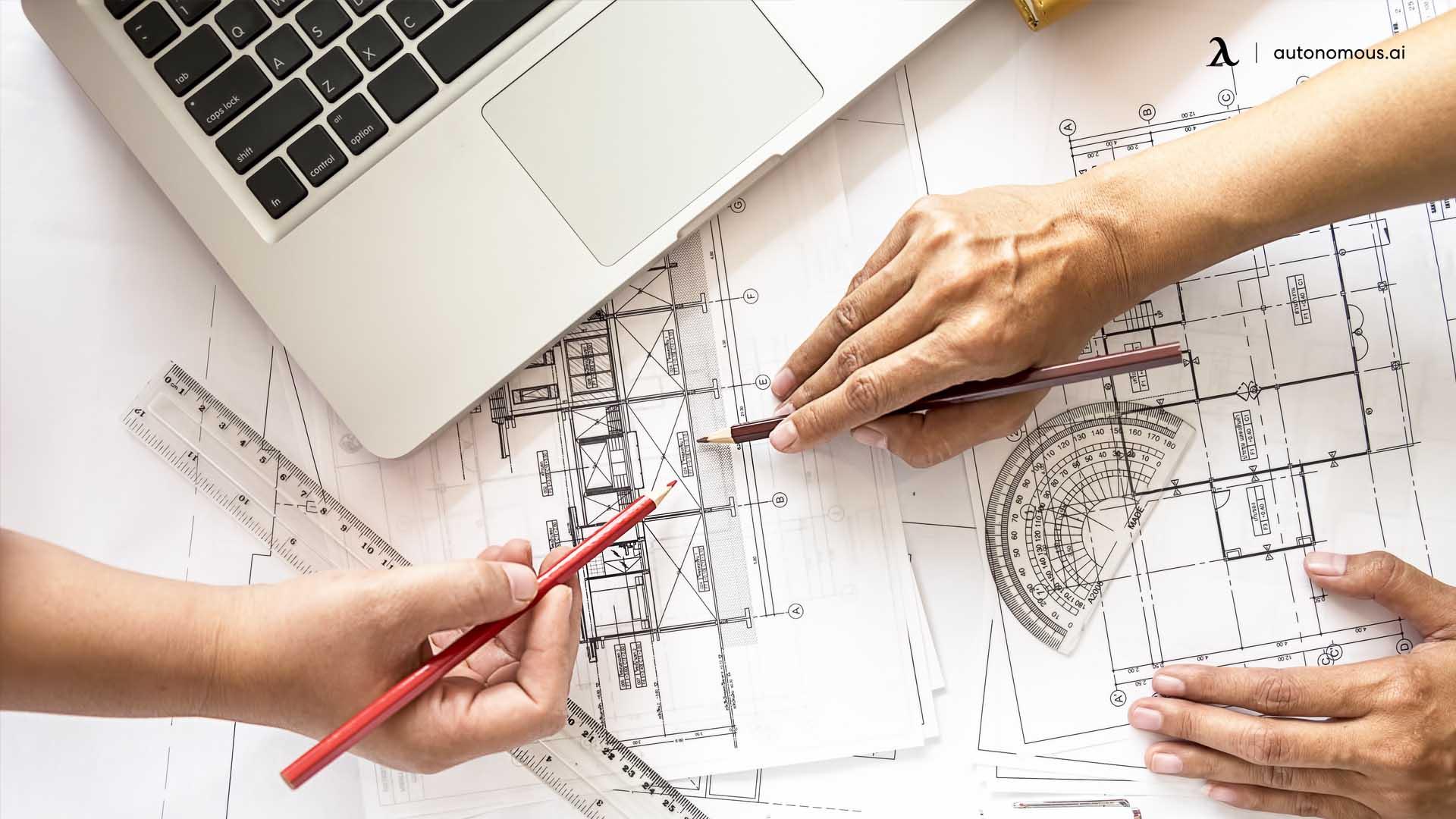 Workspace layout design