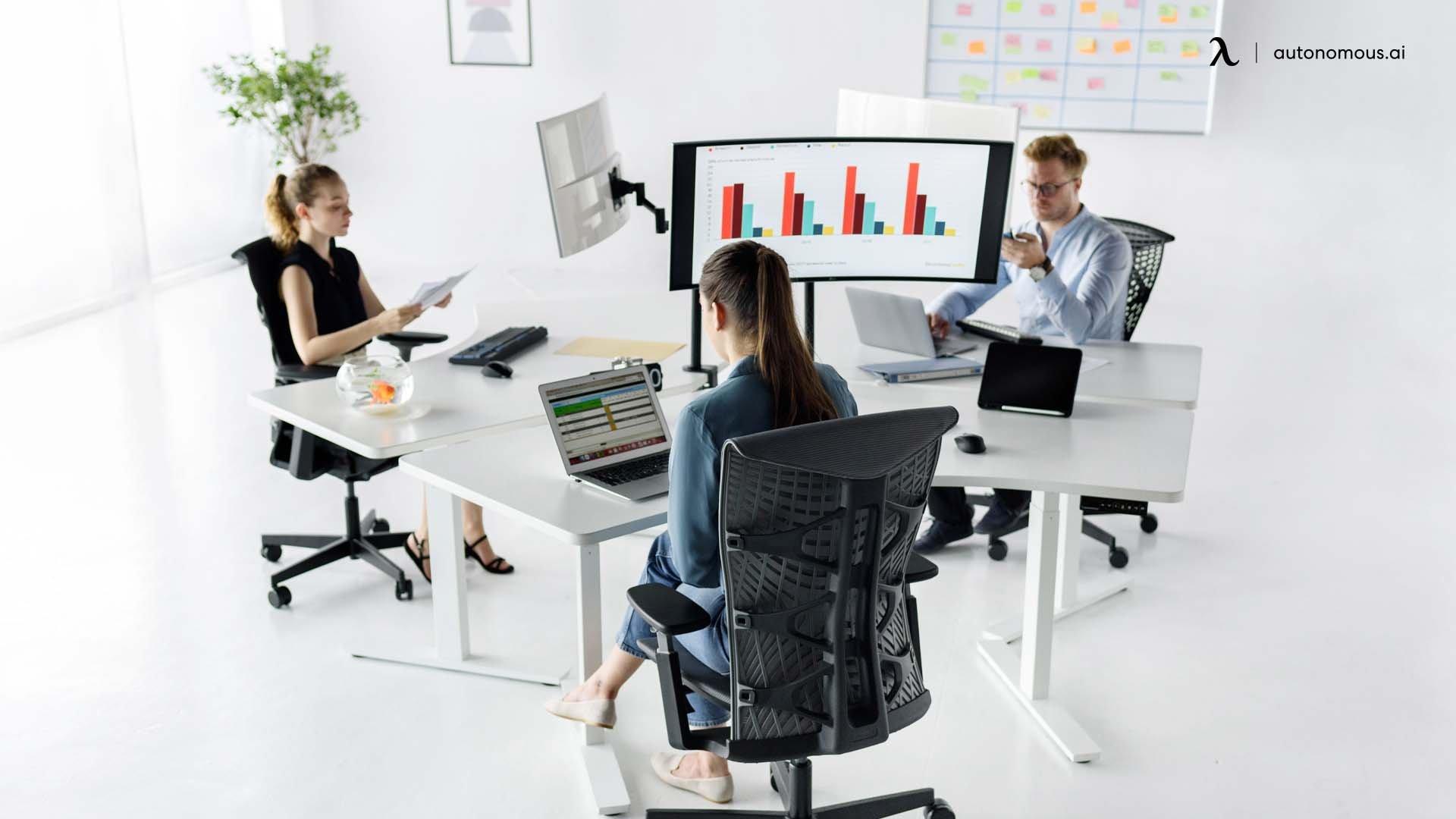 Rearrange flexible workspace