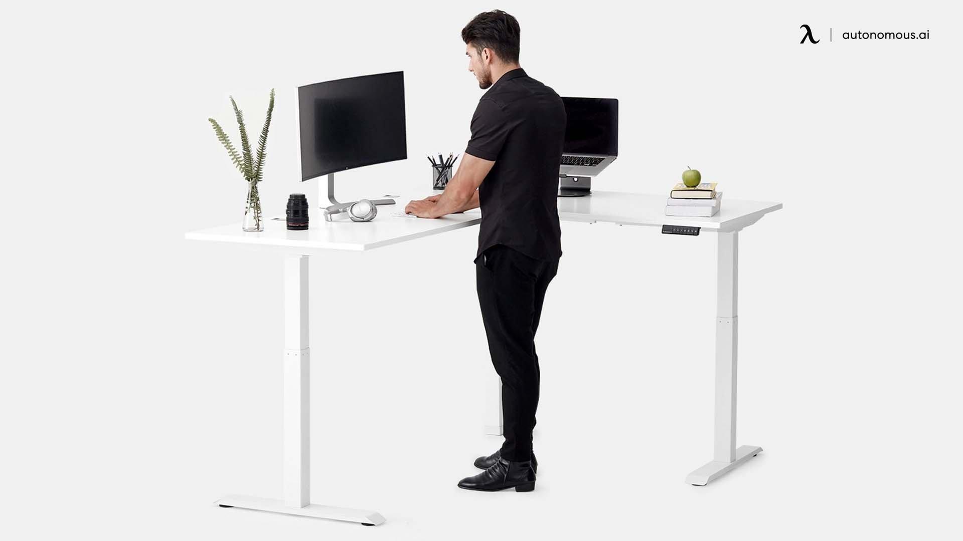 DIY L-Desk Frame