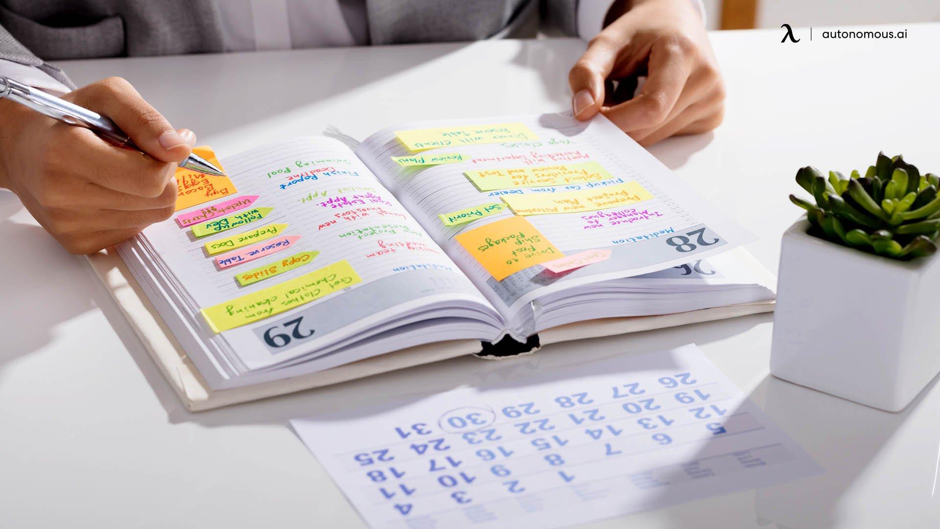 Planner or agenda
