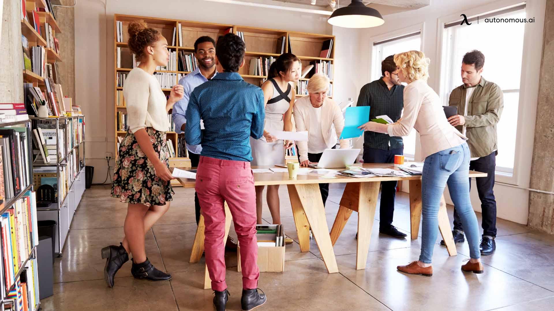 standing meeting impact work productivity