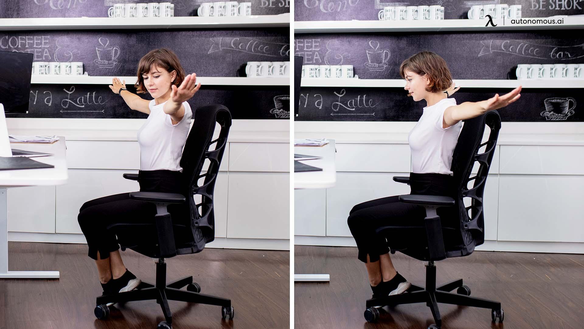 chair arm circles