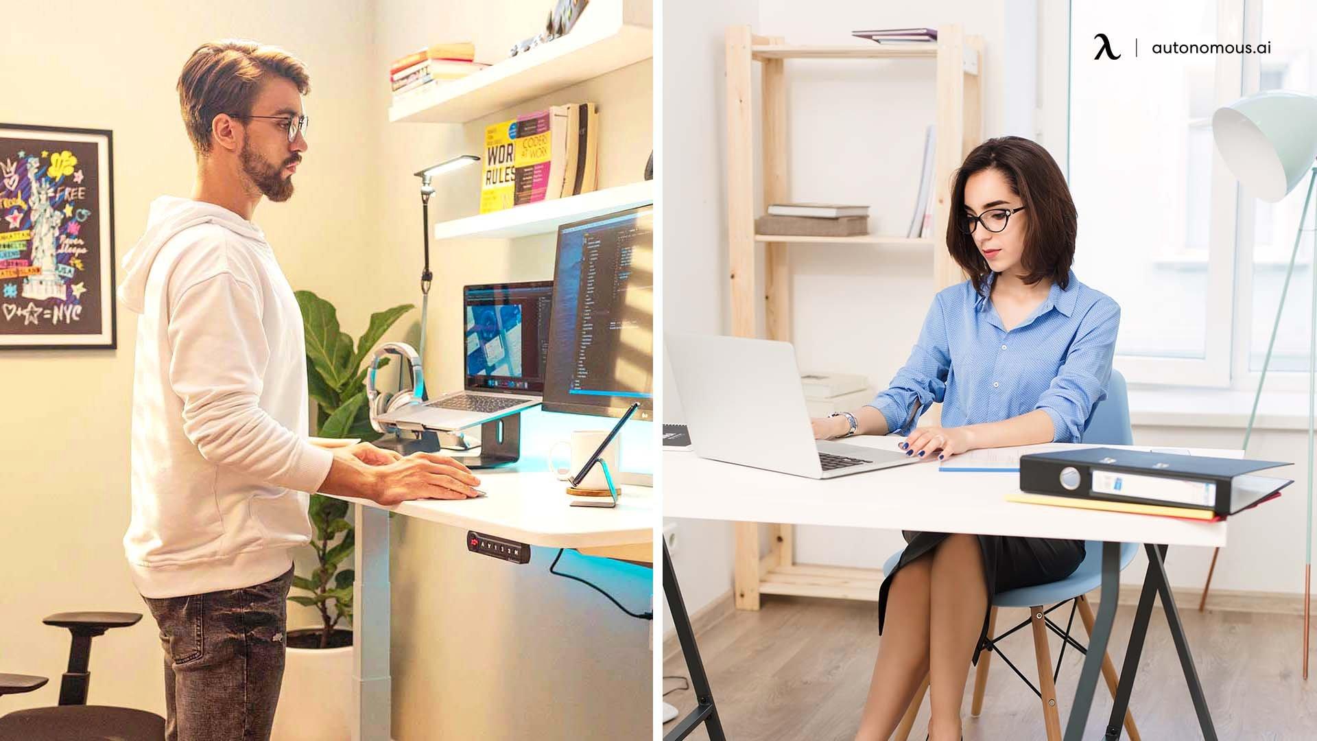 Are standing desks better than regular desks?
